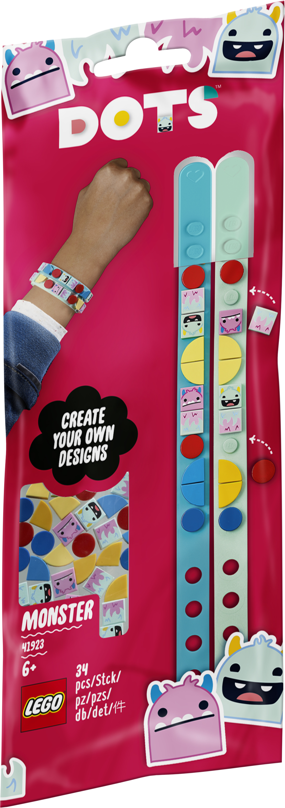 LEGO DOTS Monster-armbånd - 41923