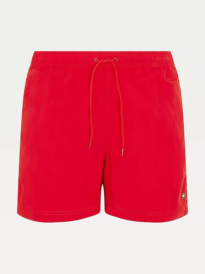 Tommy Hilfiger Drawstring badeshorts, red, x-large