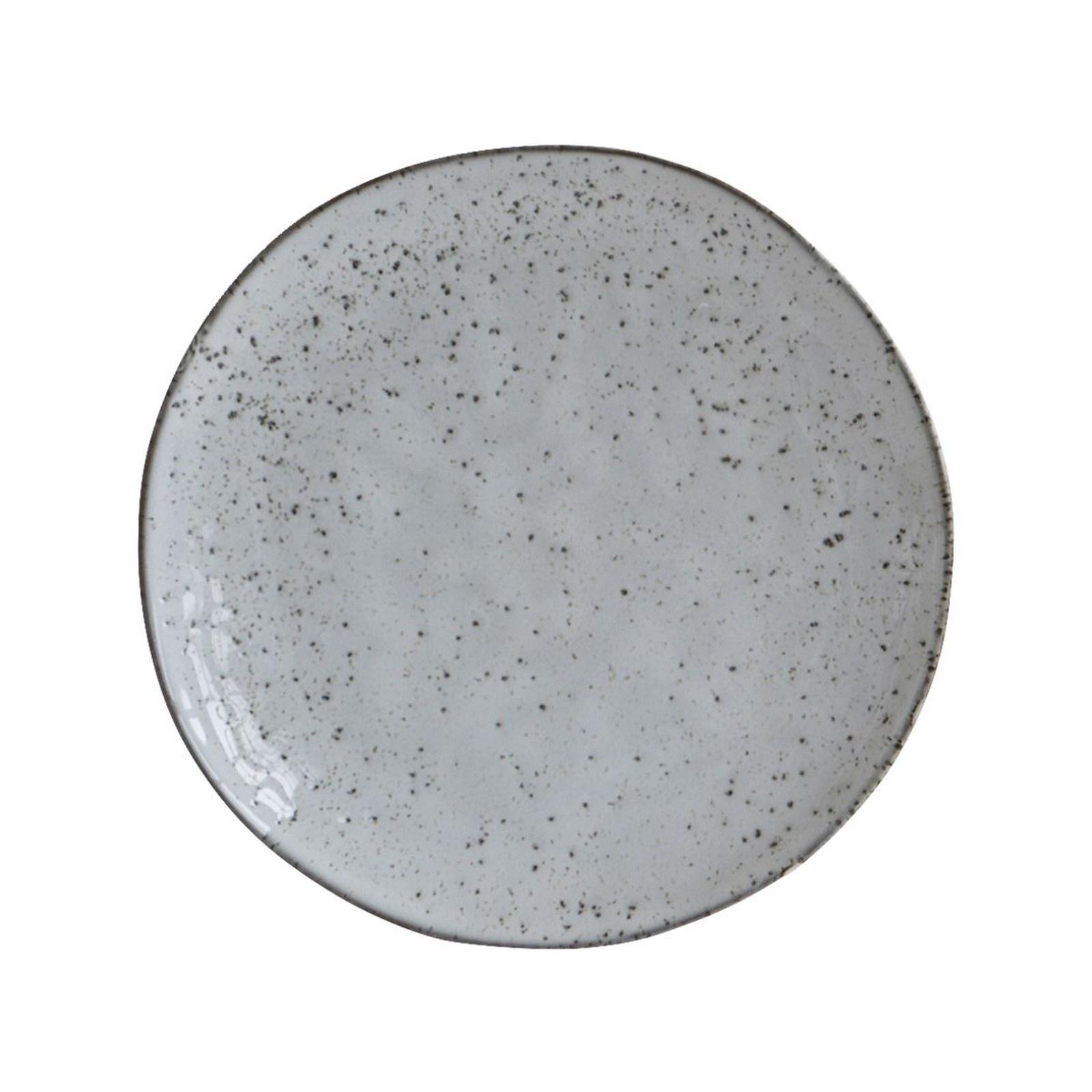 House Doctor Rustic desserttallerken, Ø20,5, gråblå