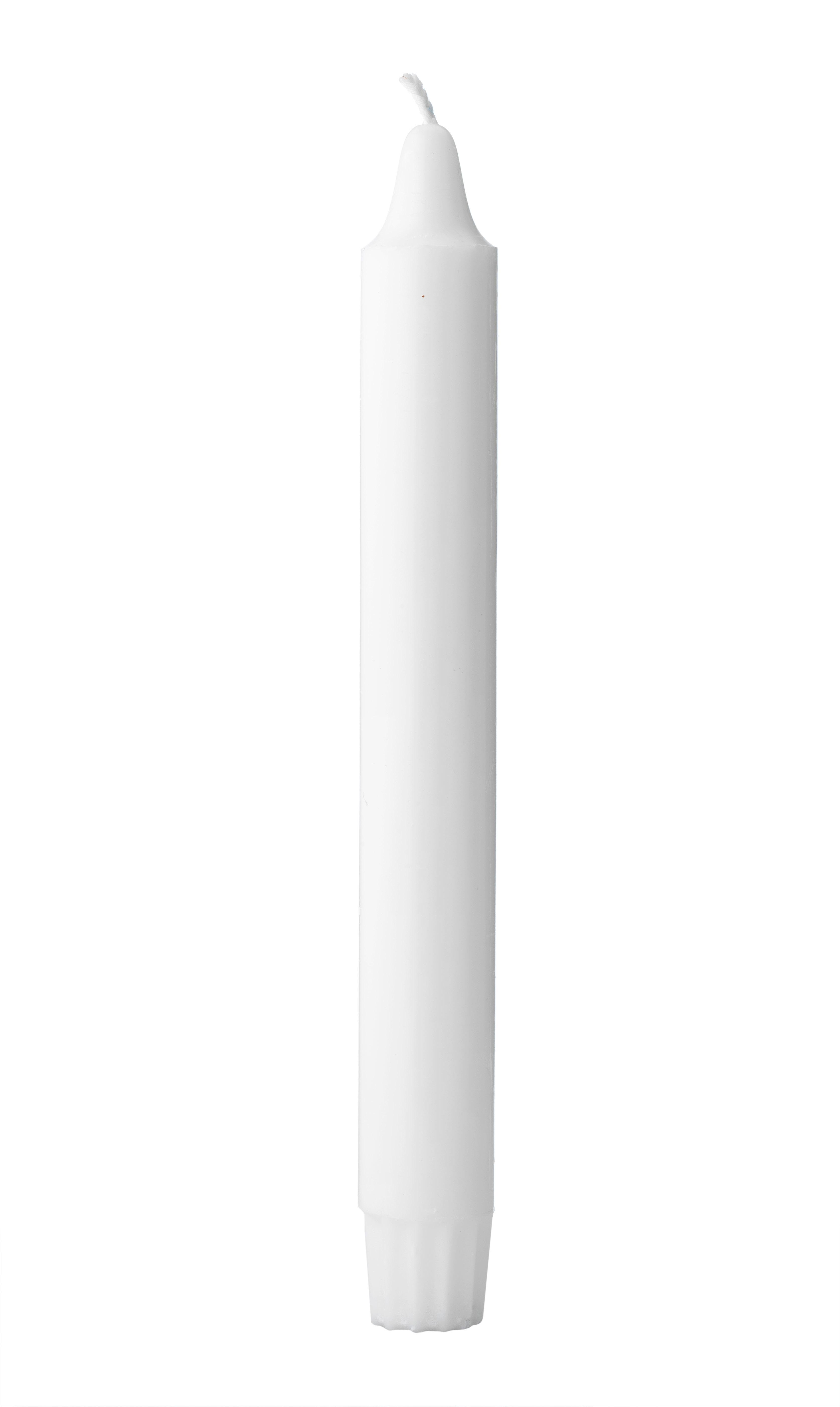 ByLassen Kubus stearinlys, hvid, 16 stk