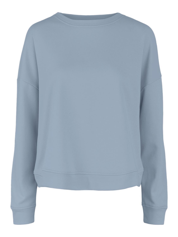 Pieces Chilli Summer sweatshirt, blue fog, medium