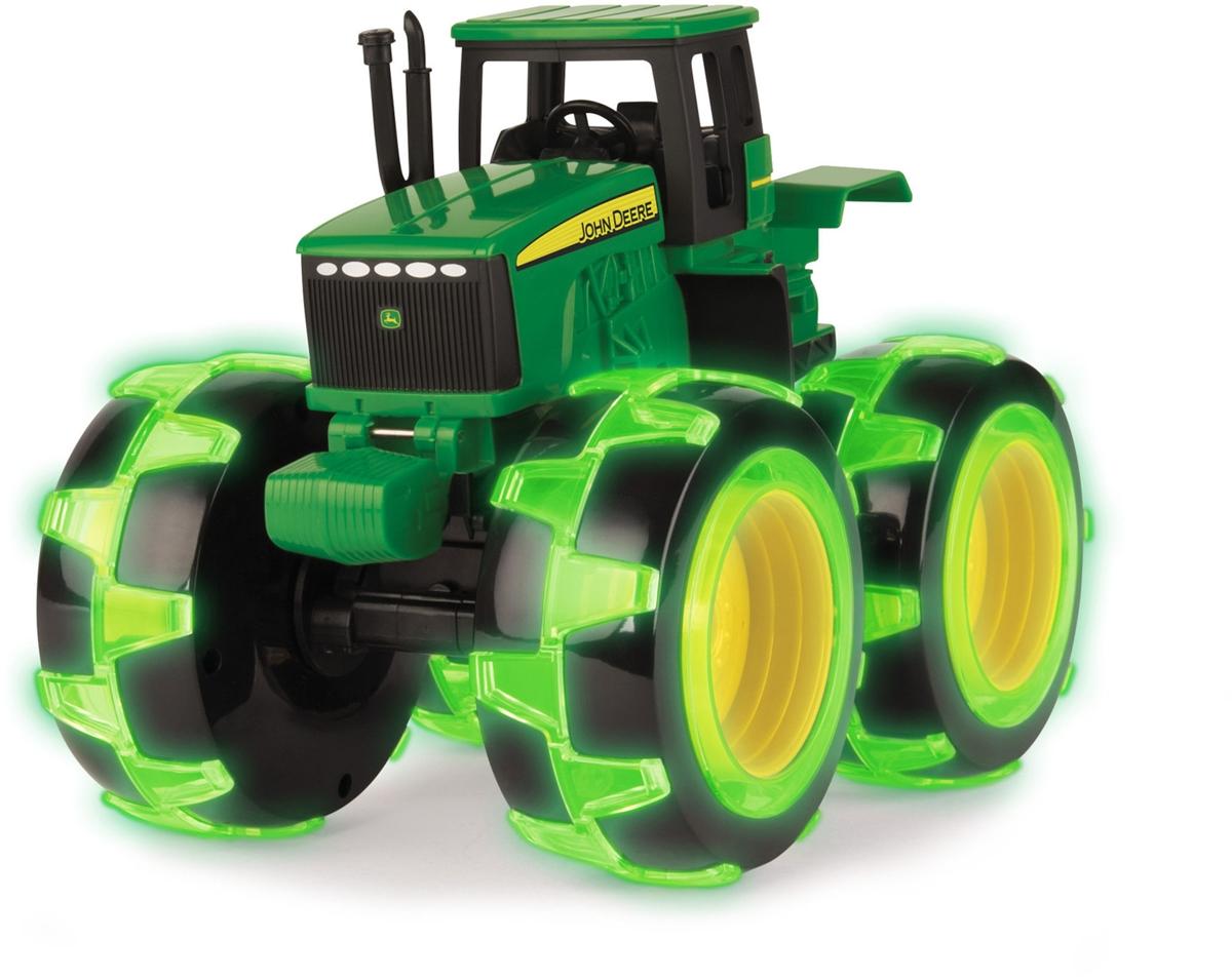 John Deere Traktor m. lys