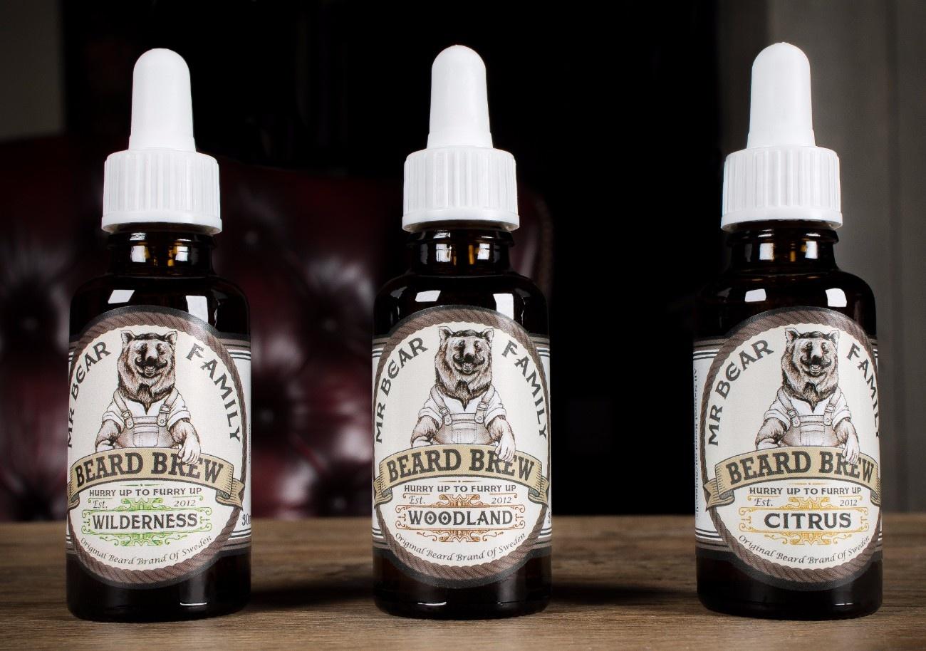 Mr. Bear Beard Beard Brew Oil, Woodland