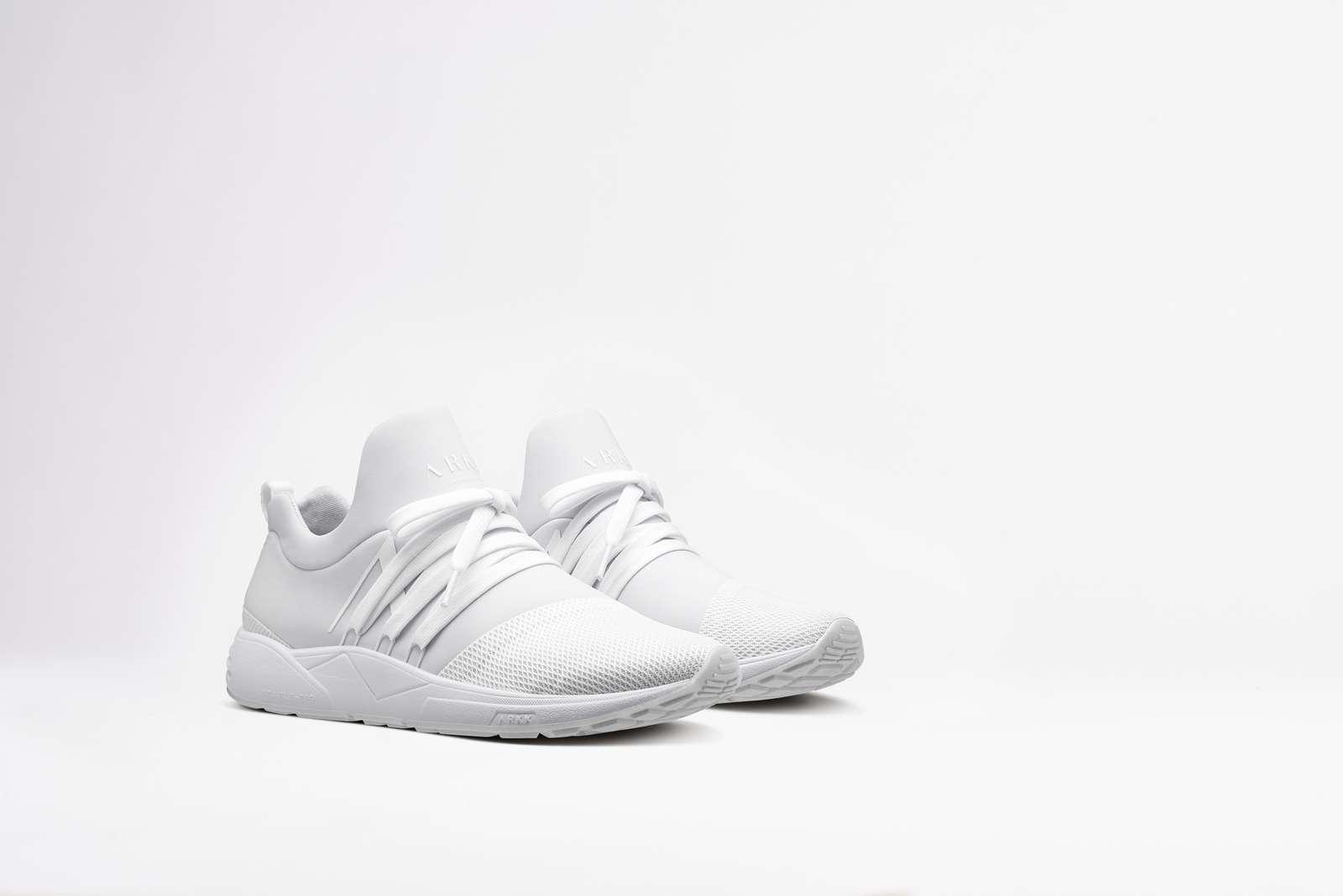 ARKK Copenhagen Raven Mesh S-E15 sneakers, triple-white, 42