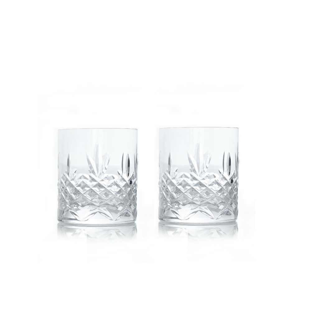Frederik Bagger Crispy Lowball glas, 2 stk