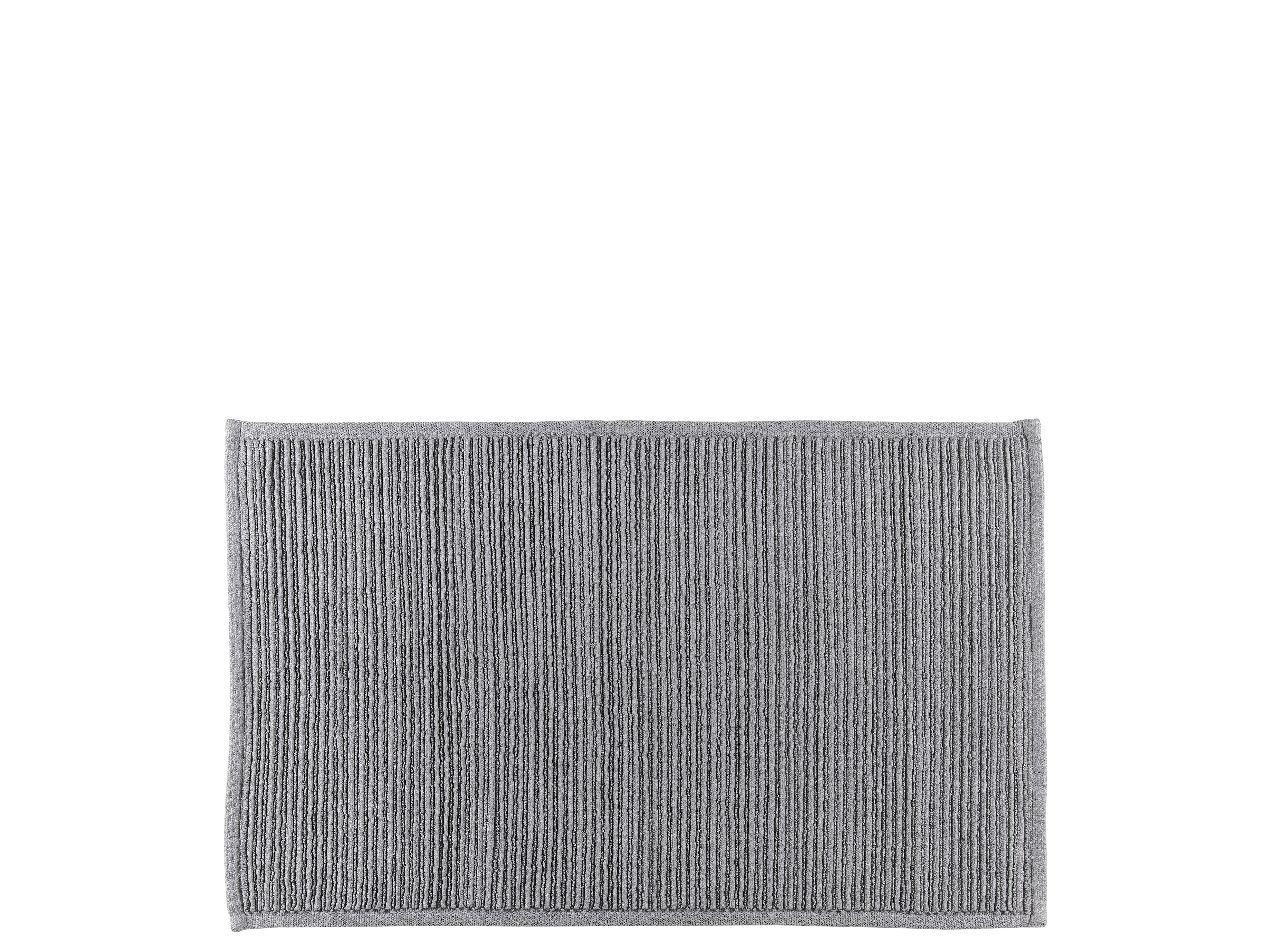 Södahl Plissé bademåtte, 50x80 cm, grey