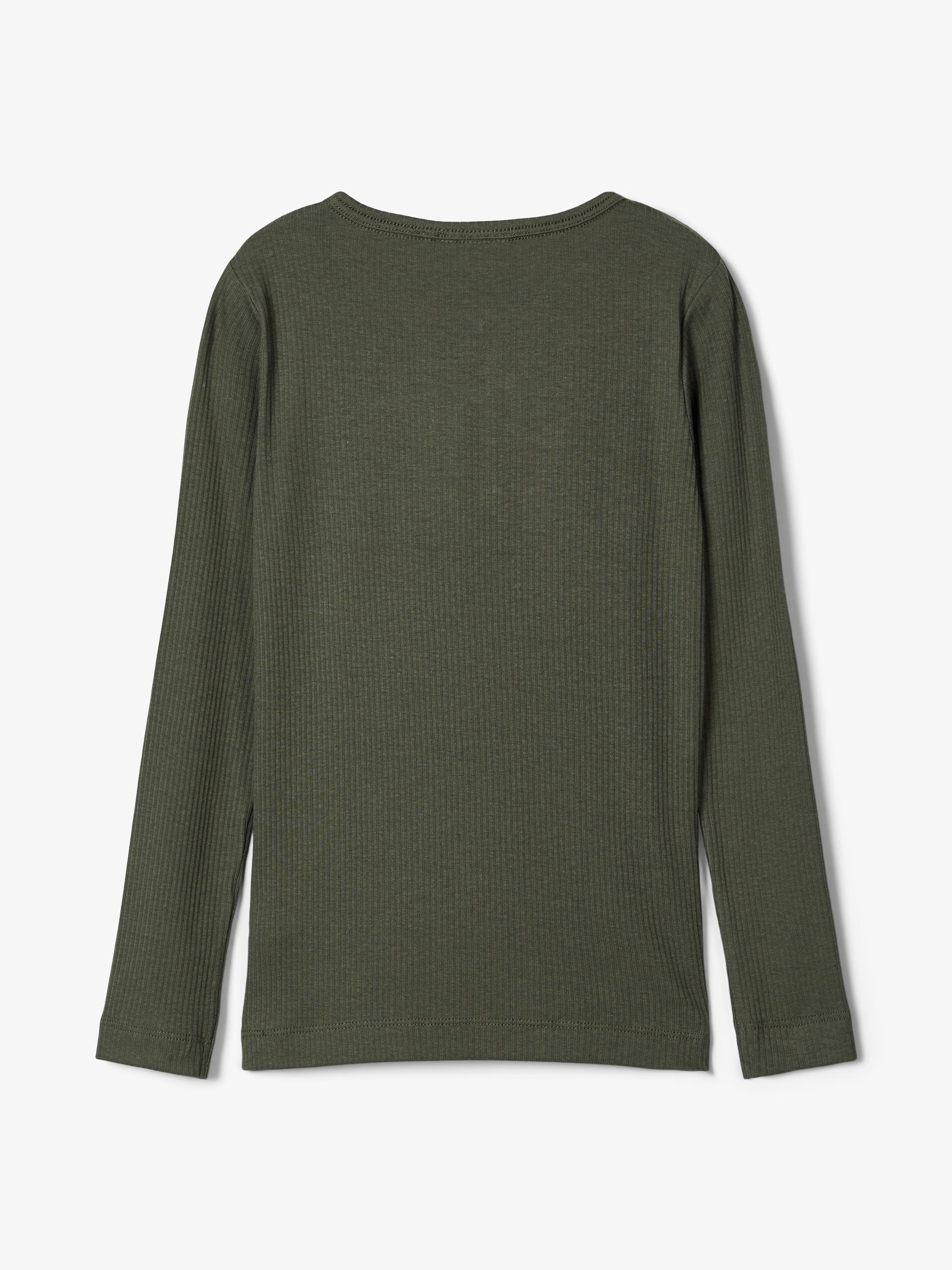 Name It Kabille LS t-shirt, thyme, 122-128
