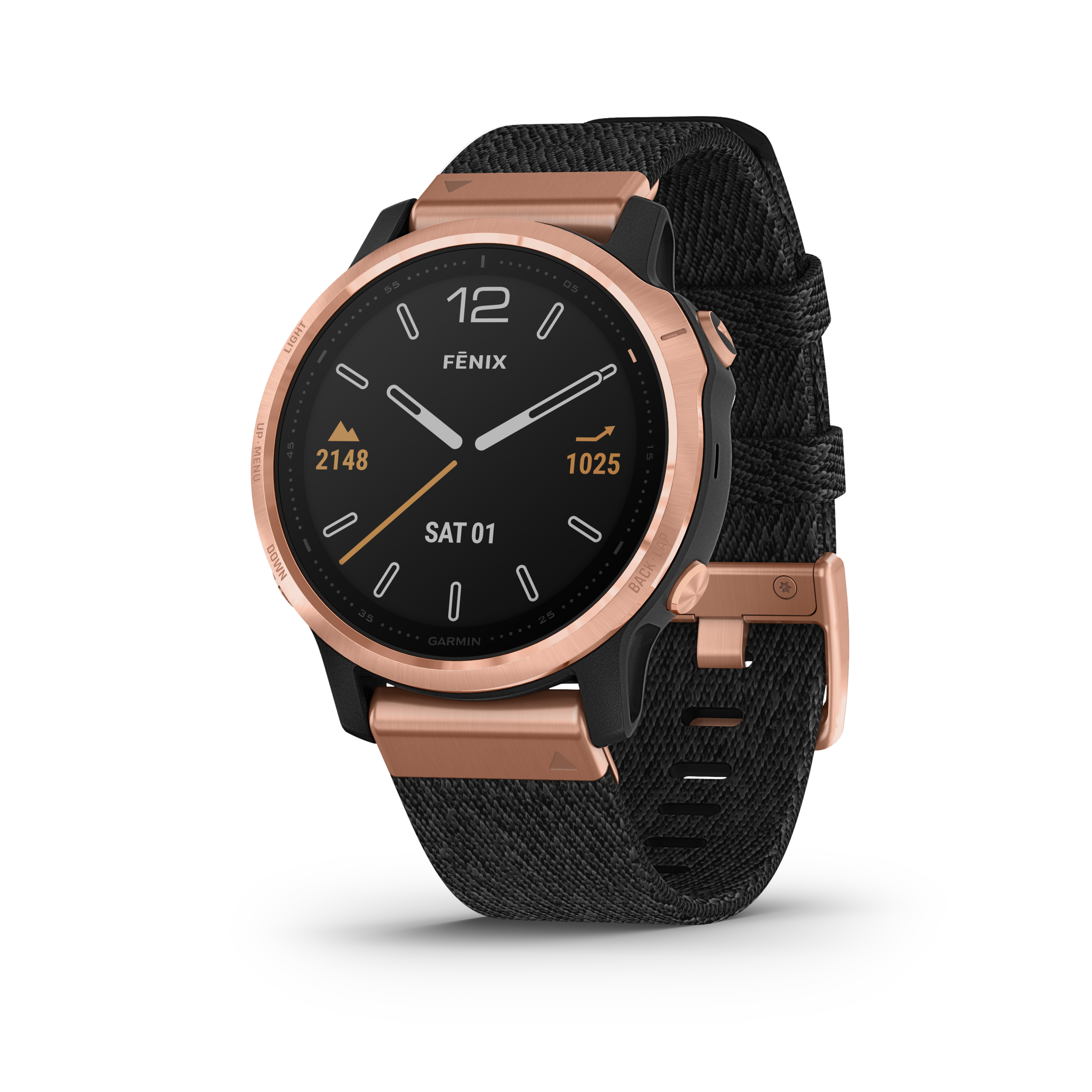 Garmin Fēnix 6S Pro Sapphire, Black/Rose-Gold