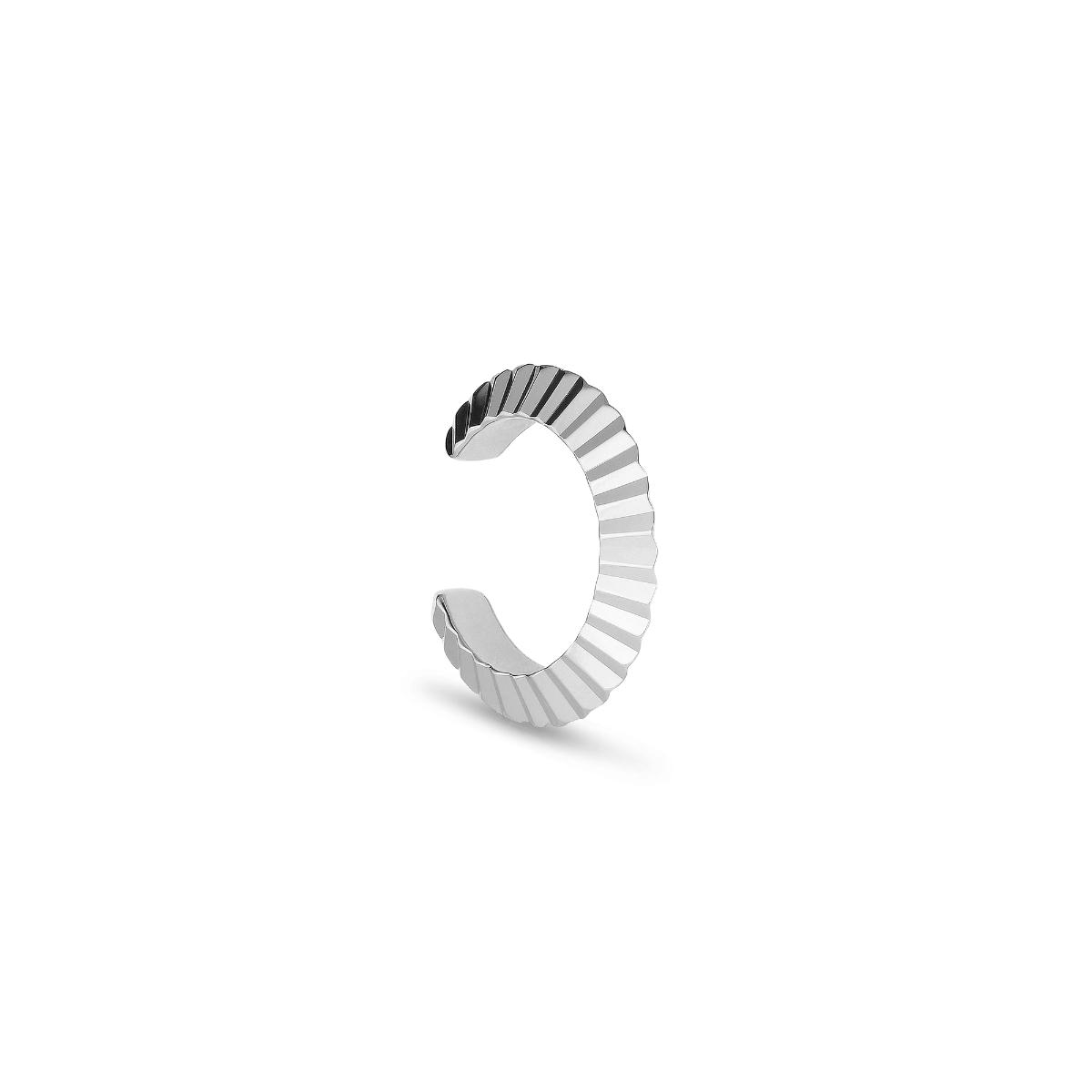 Jane Kønig small Reflection Cuff ørering, sølv