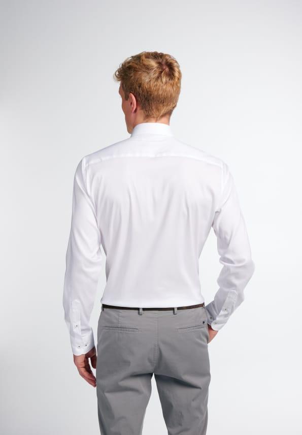 Eterna LS skjorte, slim fit, white, 38