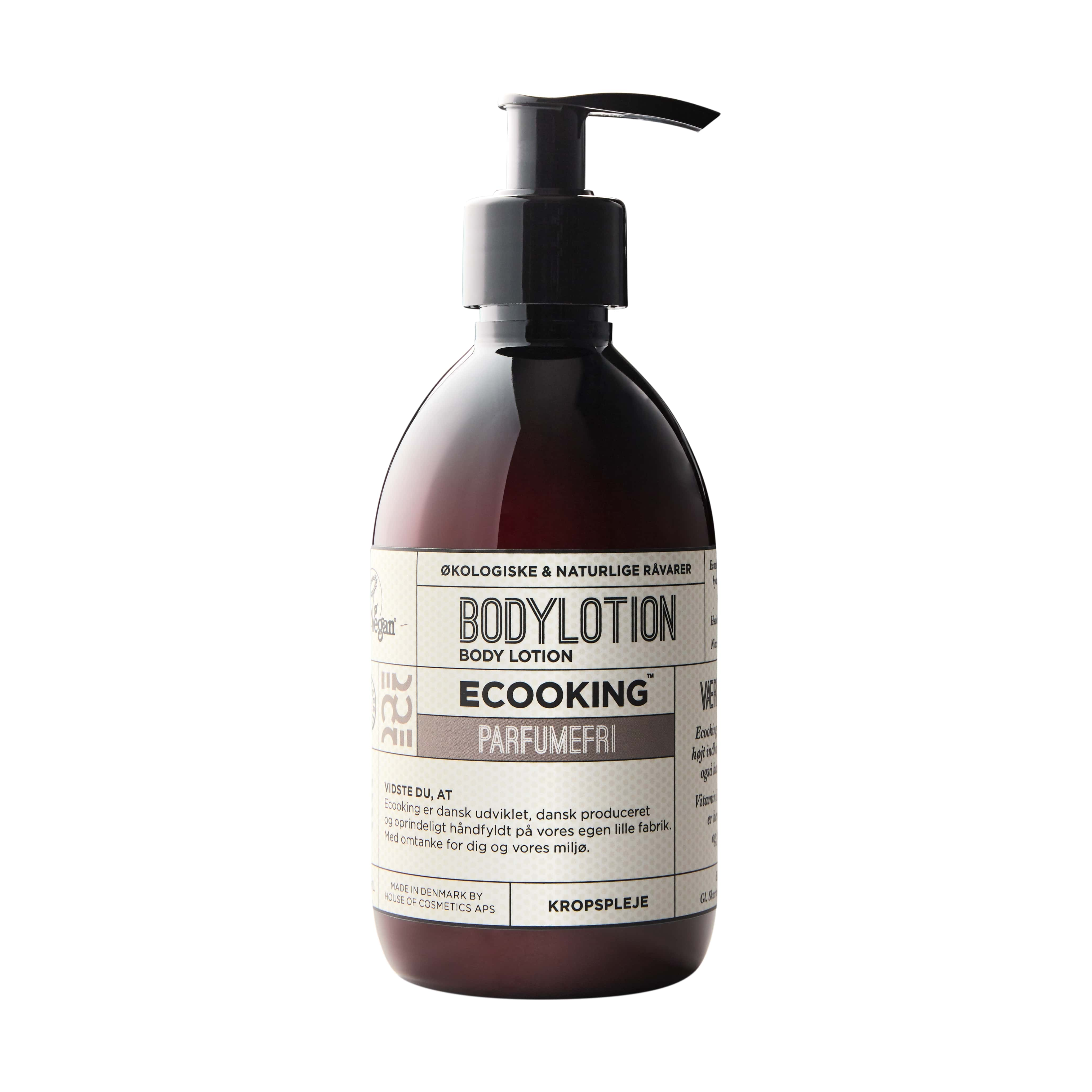 Ecooking Bodylotion Parfumefri, 300 ml