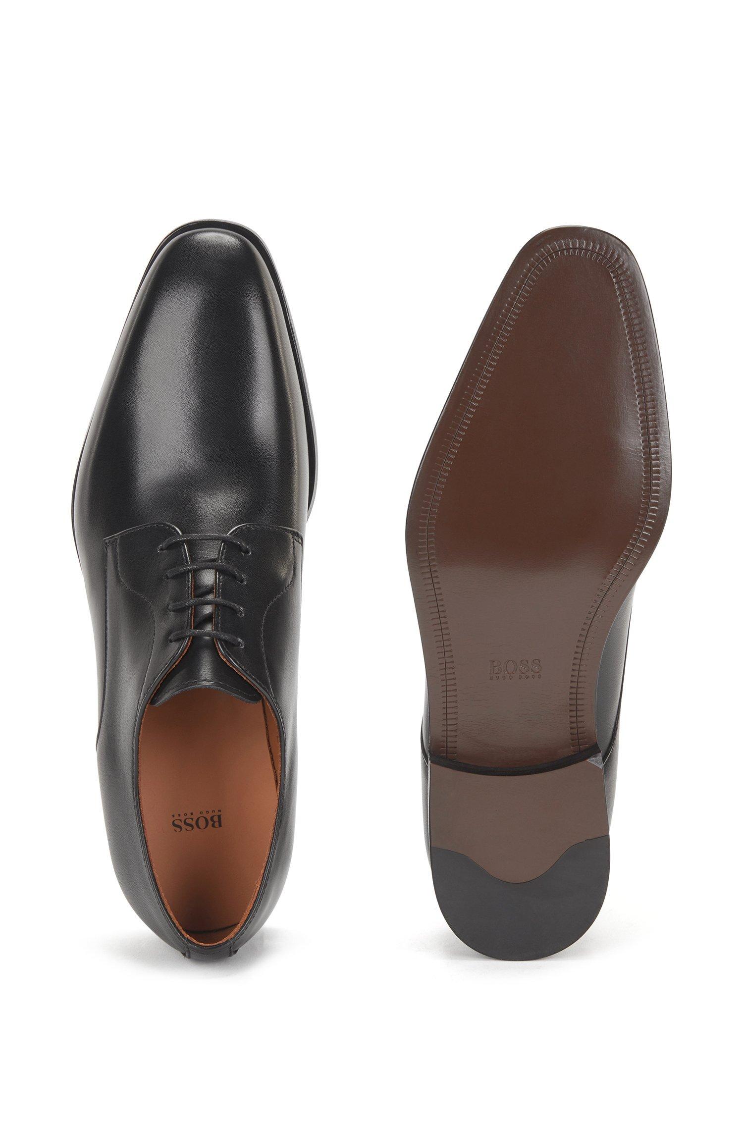 Hugo Boss Derby sko, sort, 43