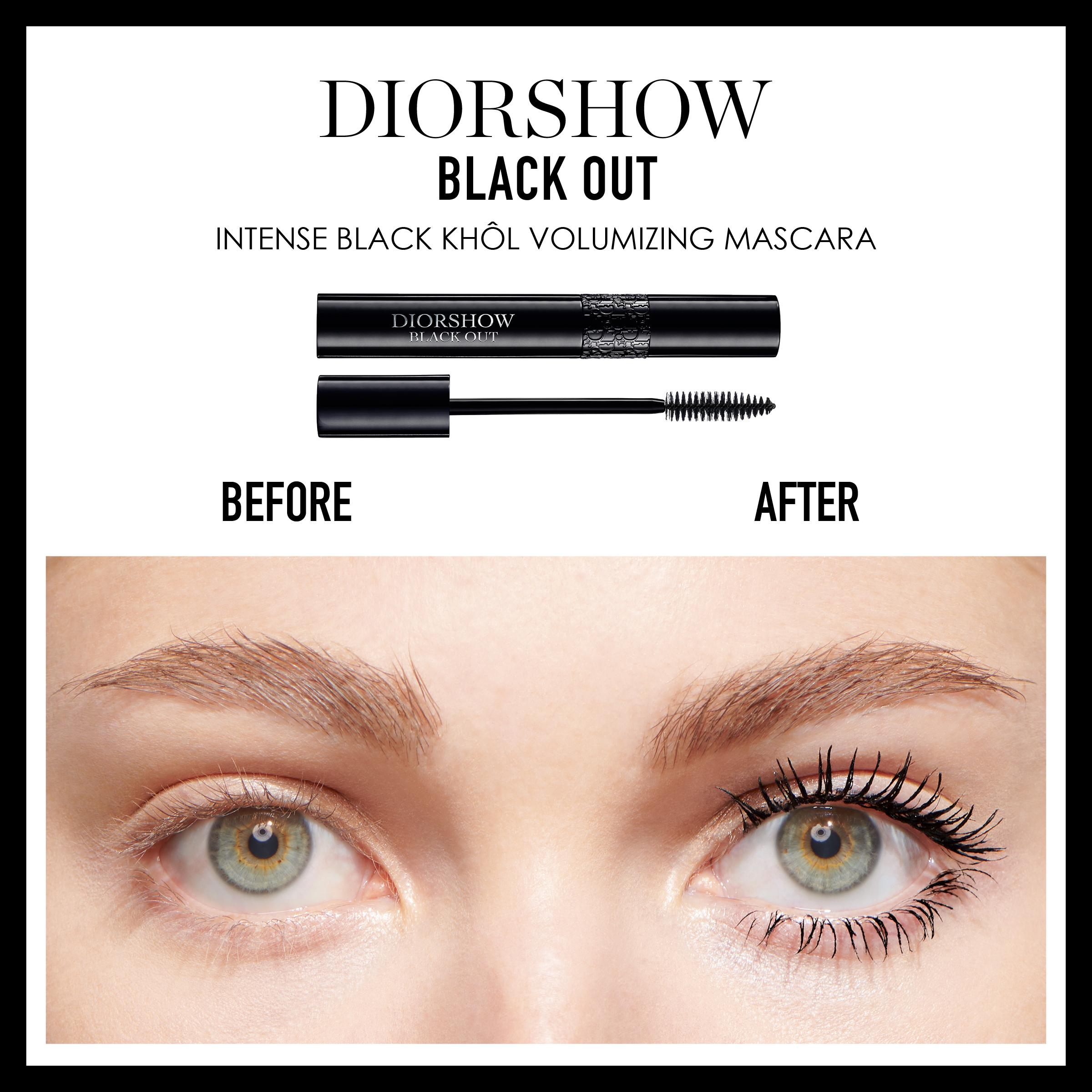 DIOR Diorshow Blackout Waterproof Mascara, 099 Kohl Black