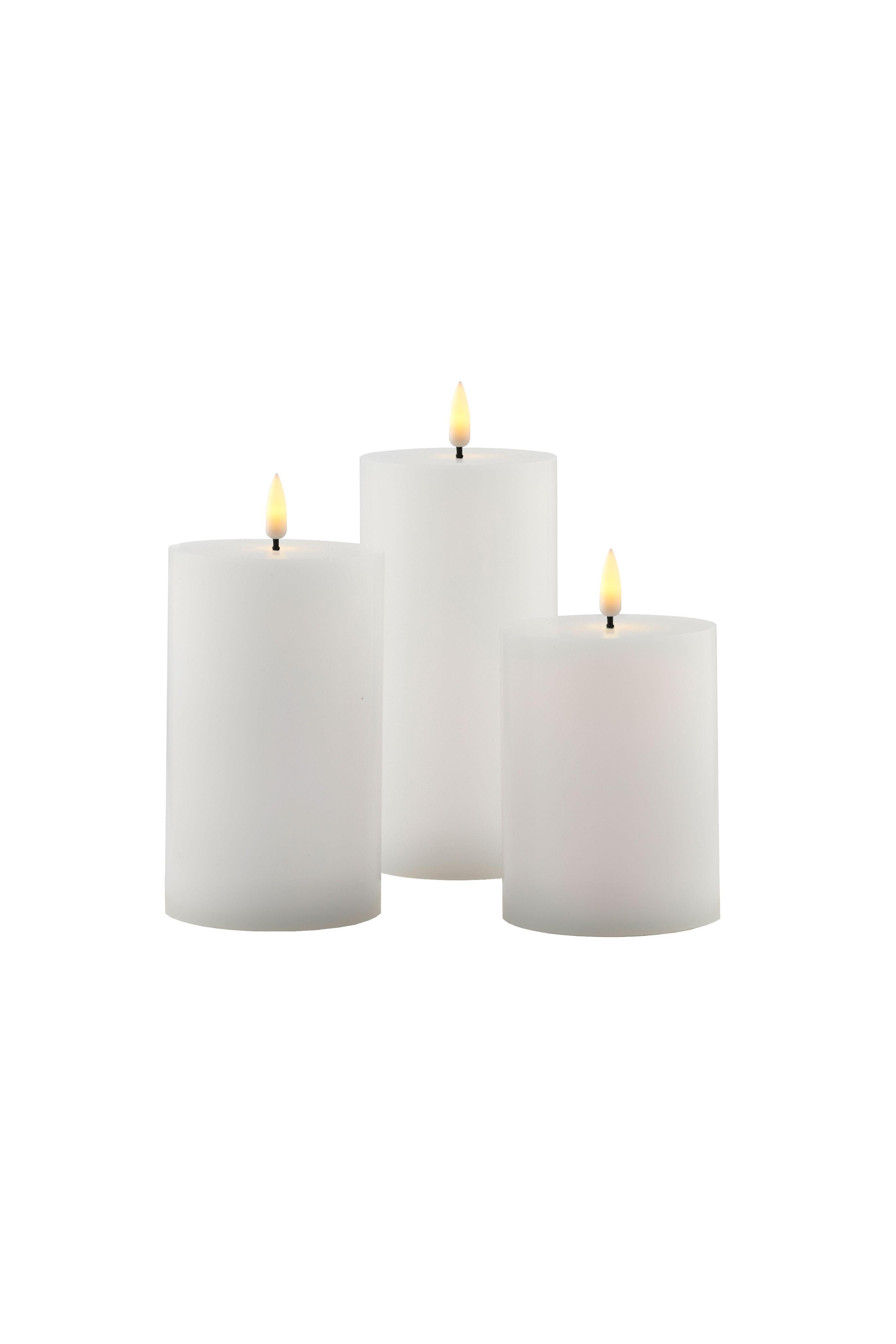 Sirius Sille Exclusive lys, hvid, 3 stk