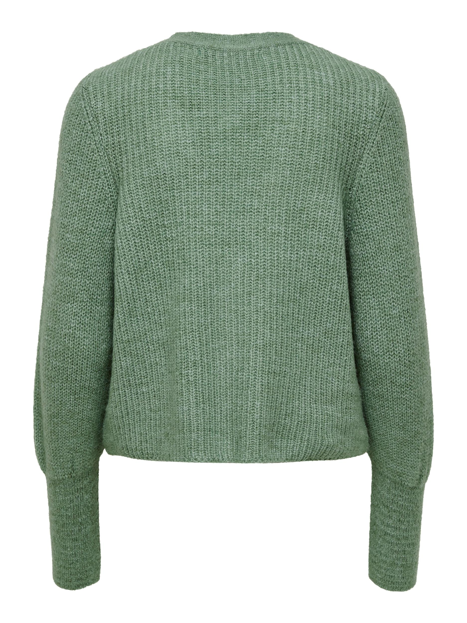 ONLY Clare cardigan, granite green, x-large