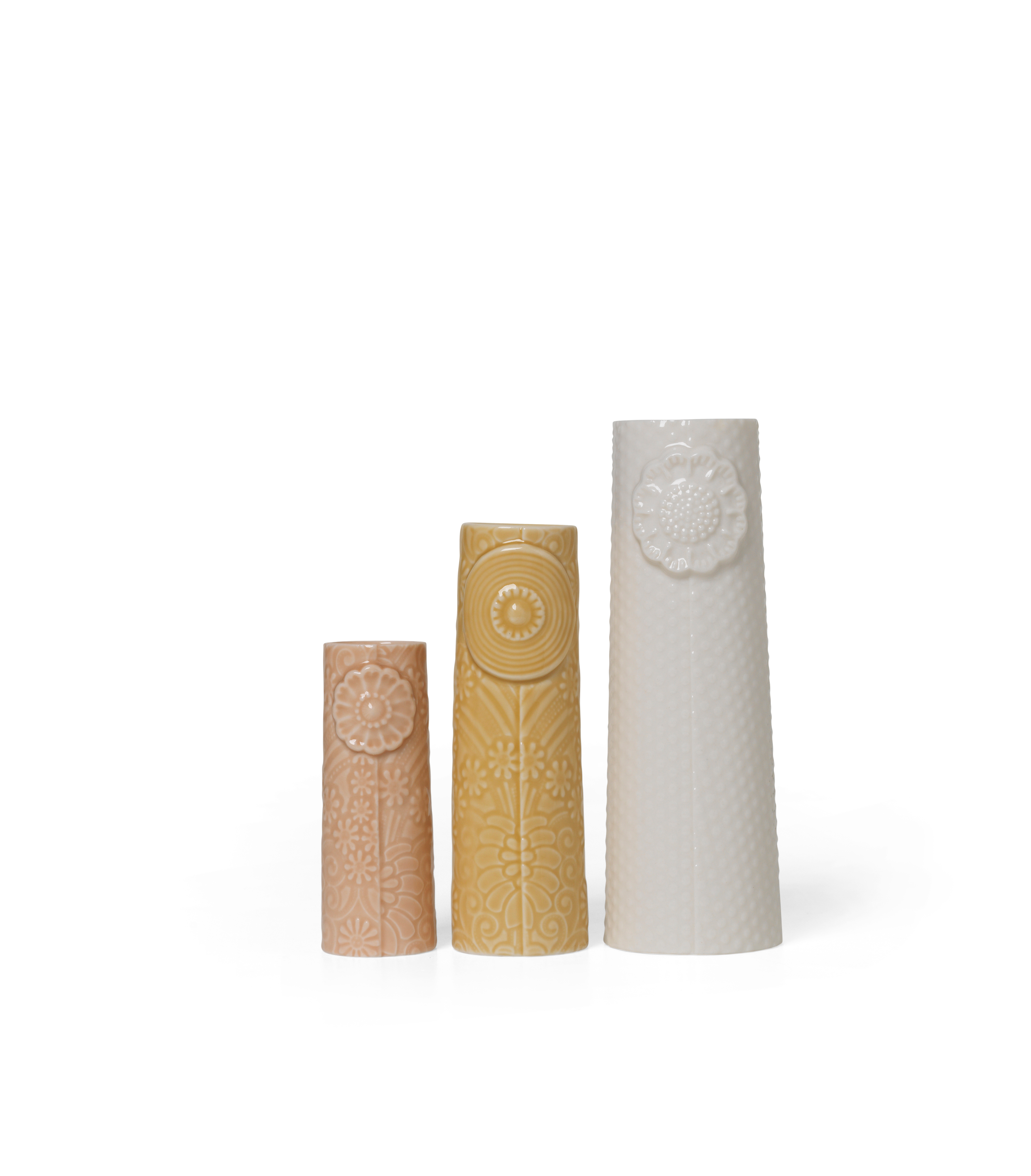 DOTTIR Flocks vasesæt, ocean, 3 stk