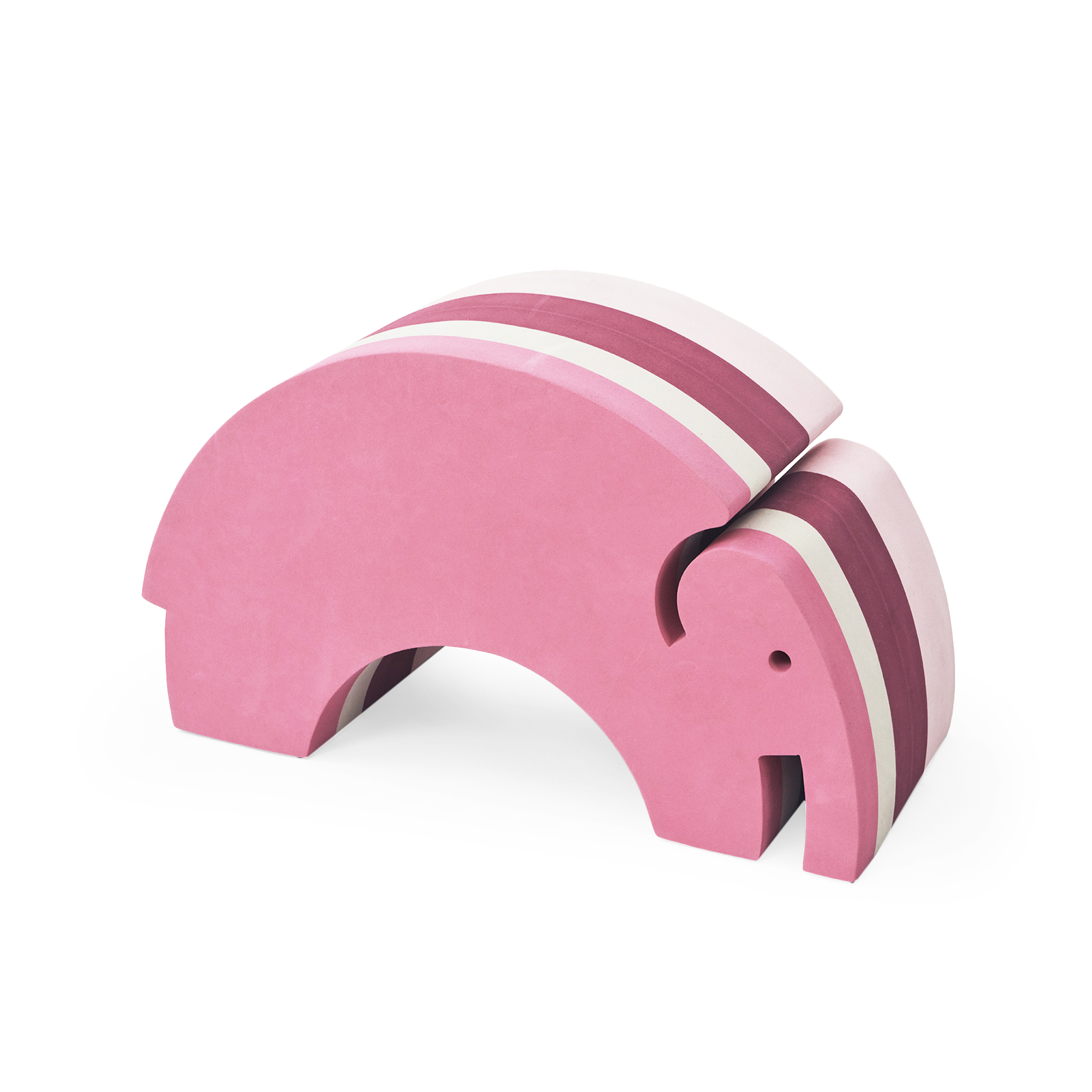 bObles elefant, rosa