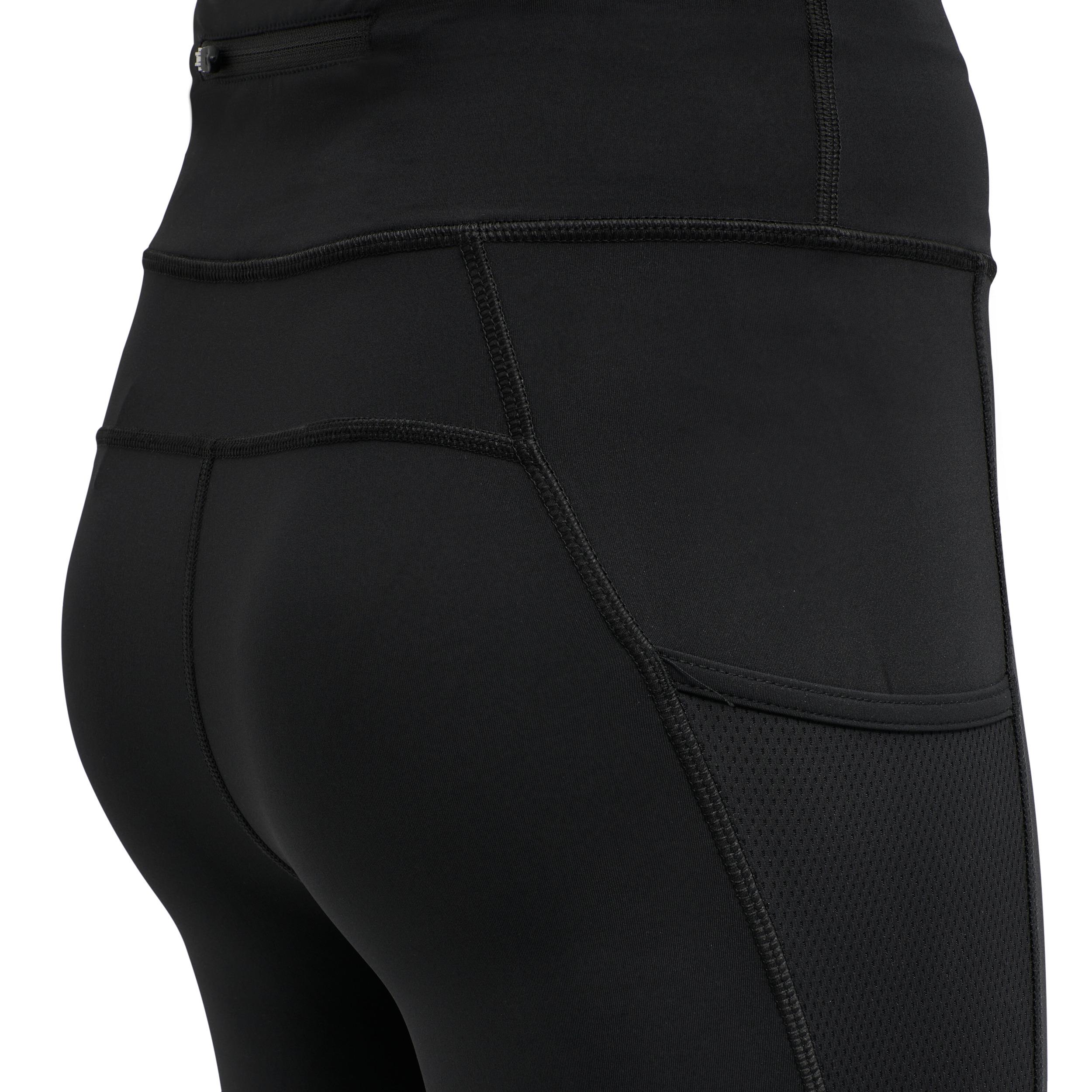 Newline W Højtaljede tights, black, small