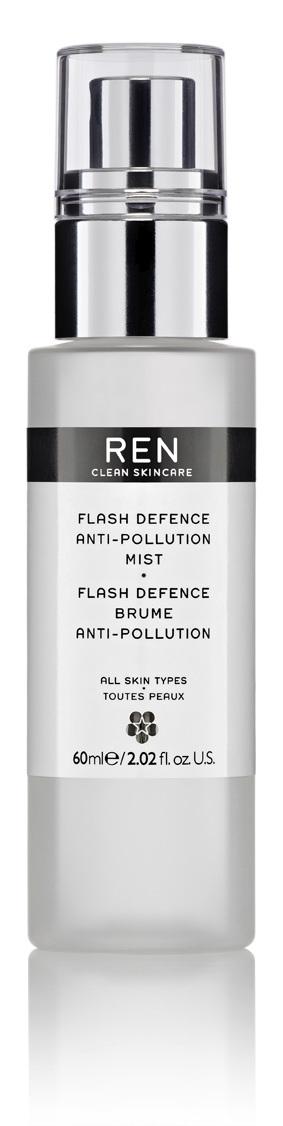 REN Flash Defence Anti-pollution Mist, 60 ml