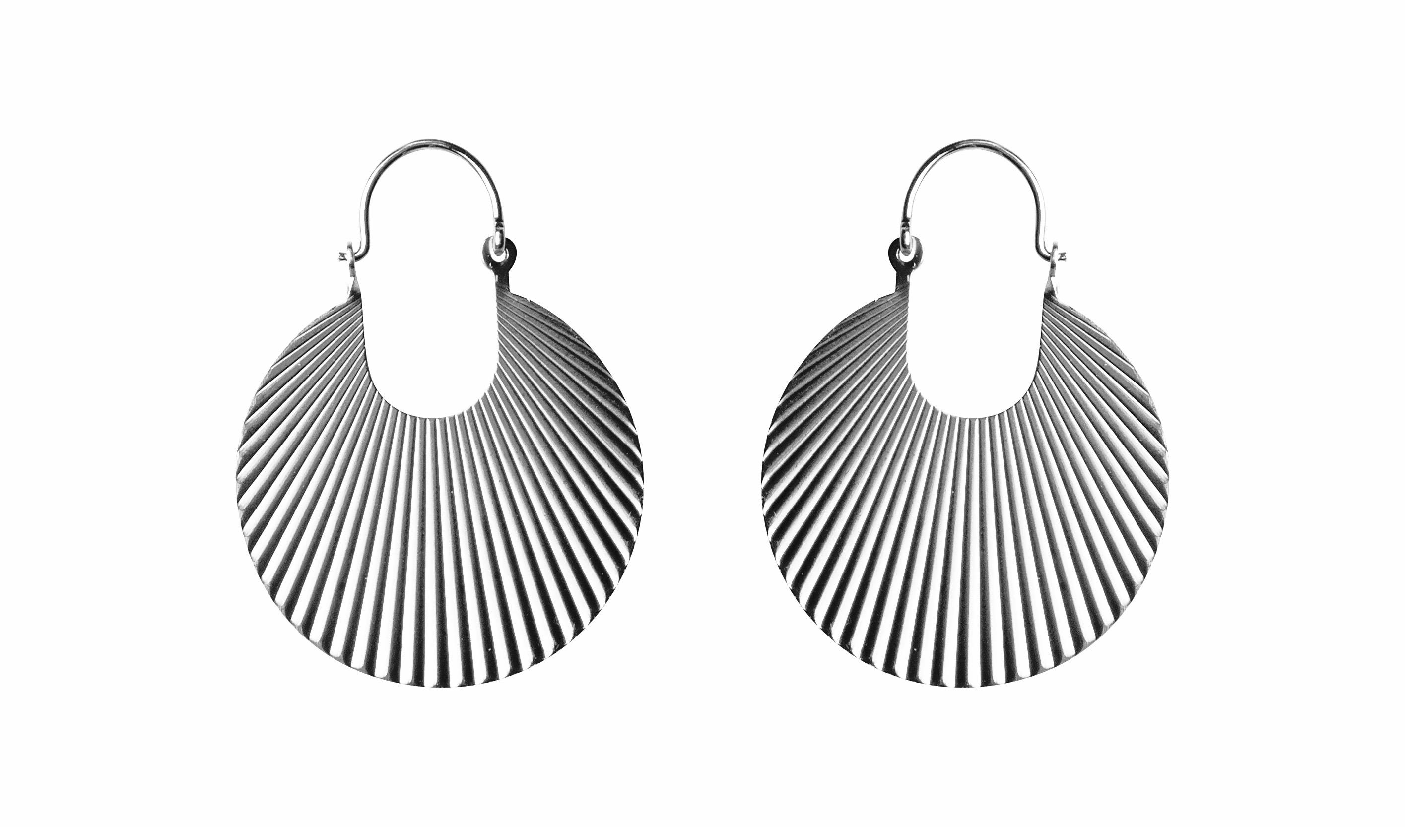 Pico Paris Fan medium øreringe