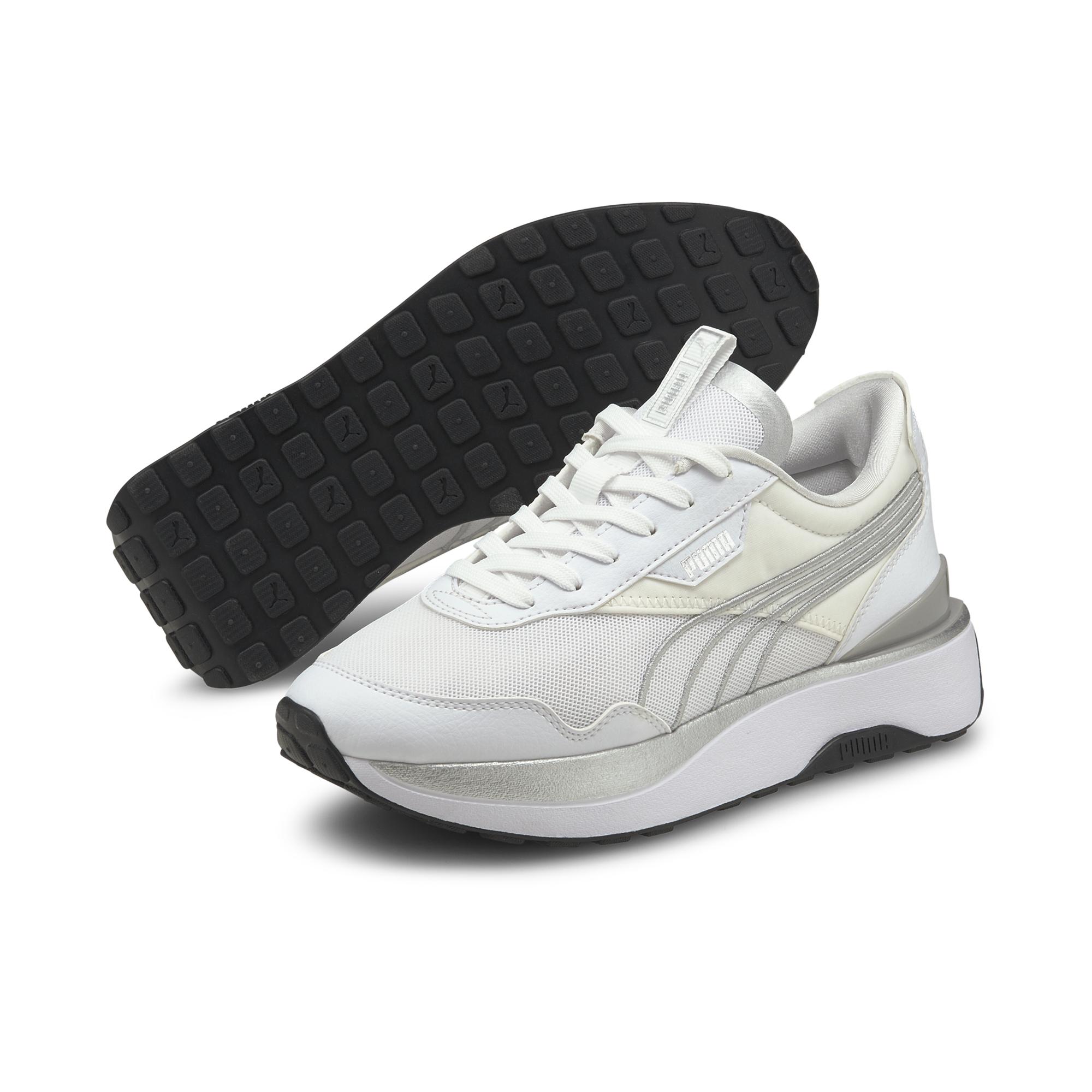 Puma Cruise Rider sneakers, white, 40