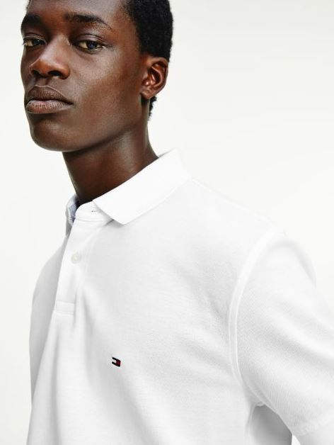 Tommy Hilfiger 1985 Polo t-shirt, white, xxx-large