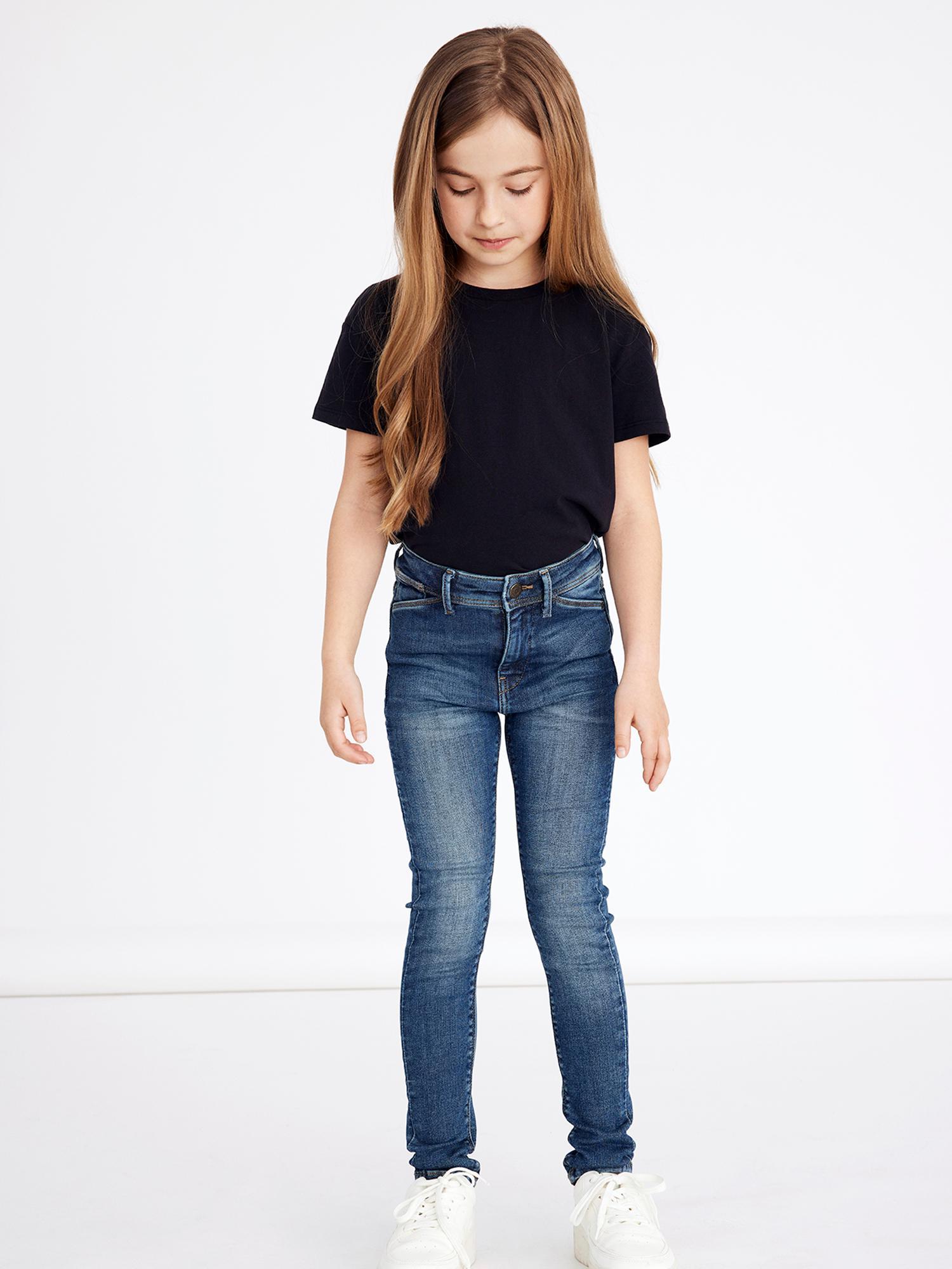 Name It Polly Skinny jeans, medium blue denim, 152