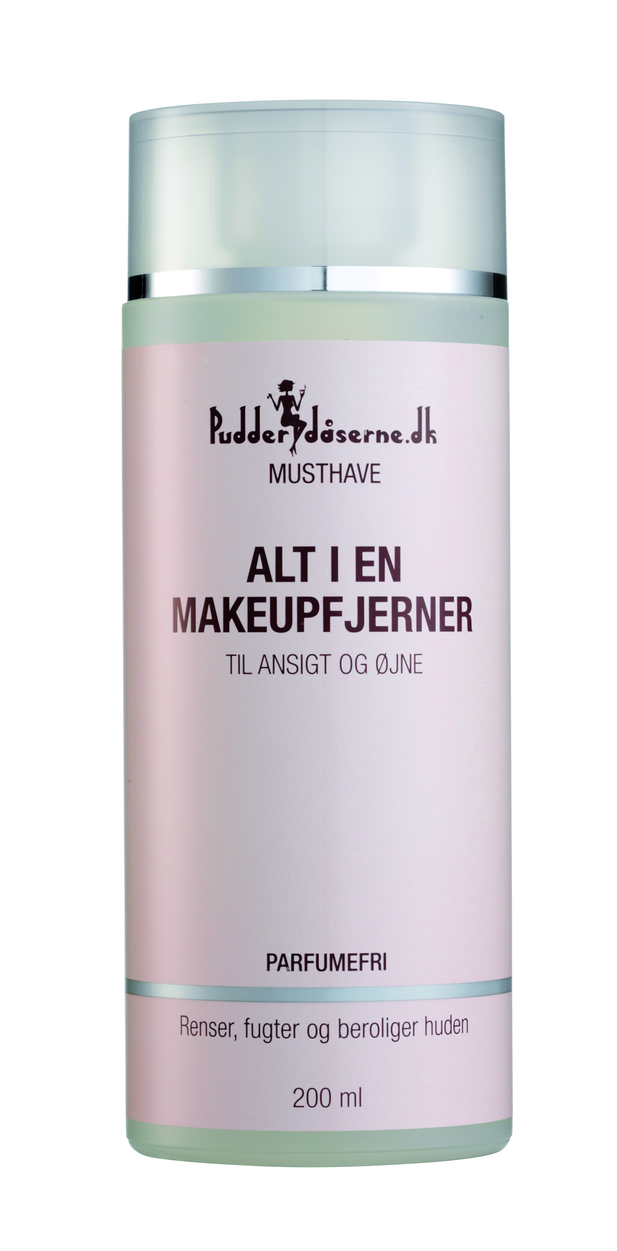 Pudderdåserne Alt I En Makeupfjerner, 200 ml