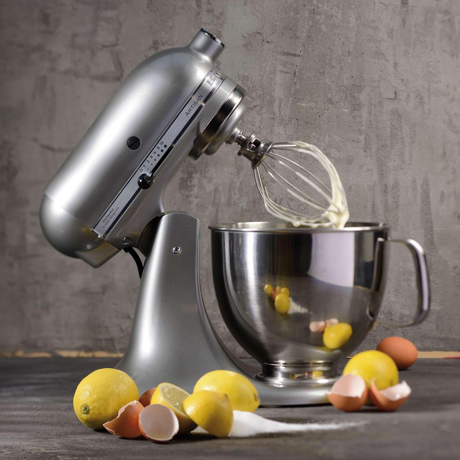 KitchenAid Artisan standmixer, KSM 125, contour silver