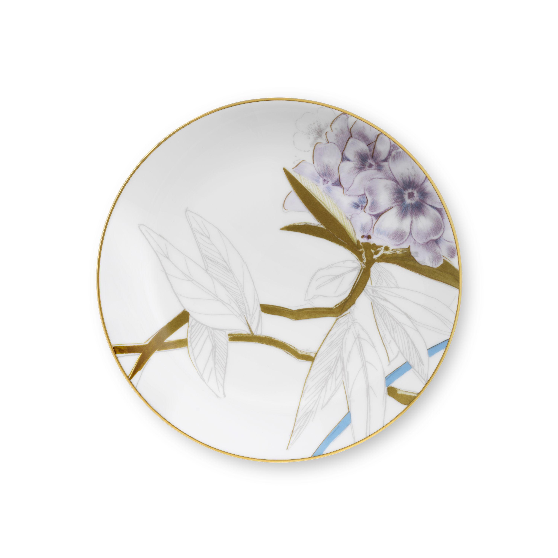 Royal Copenhagen Flora tallerken, Ø19 cm, rhododendron