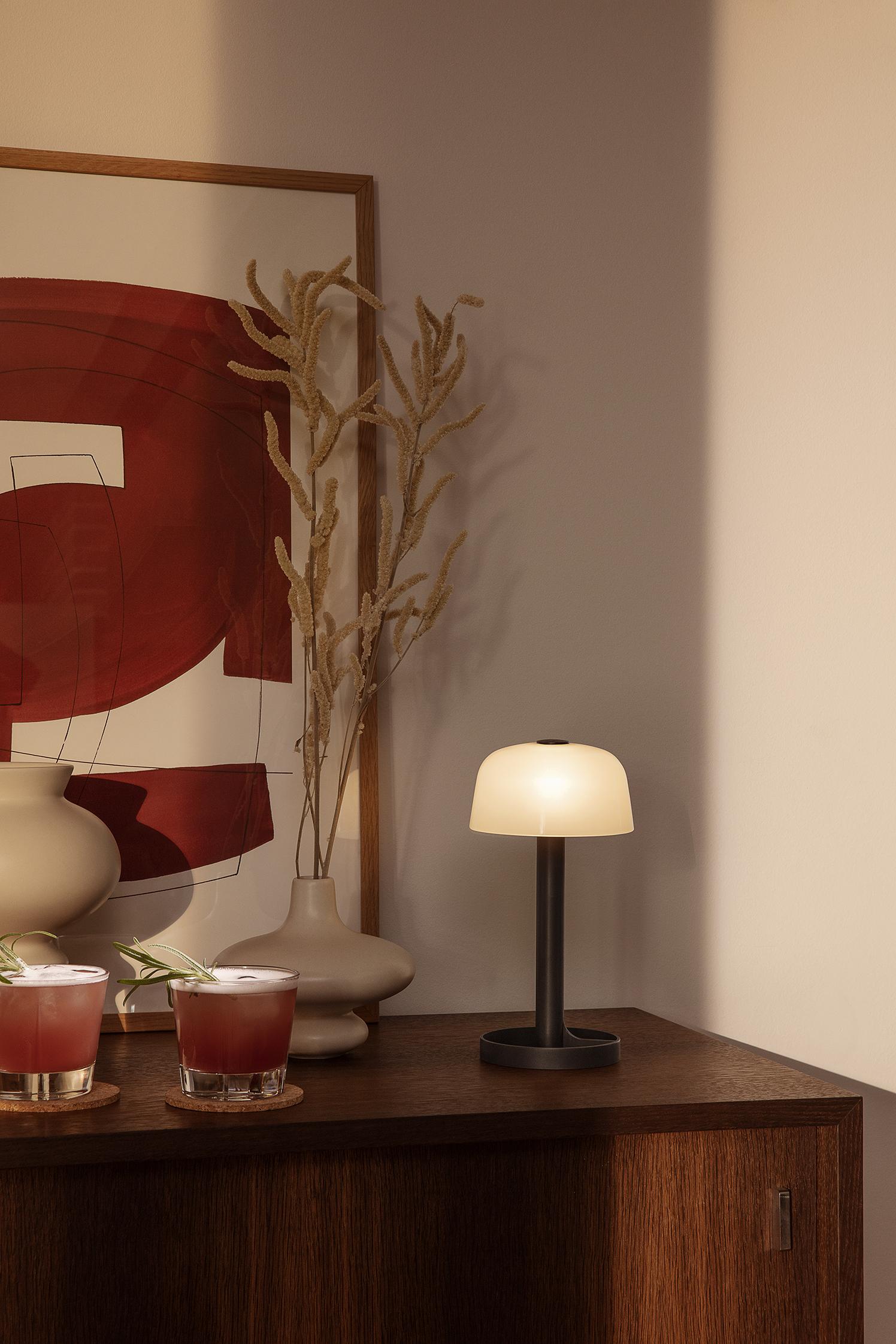 Rosendahl Soft Spot bordlampe, 24,5 cm, offwhite