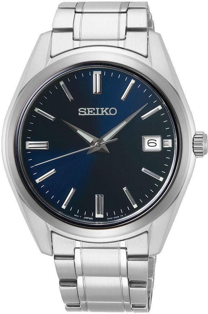 Seiko SUR309P1 herreur, steel/blue
