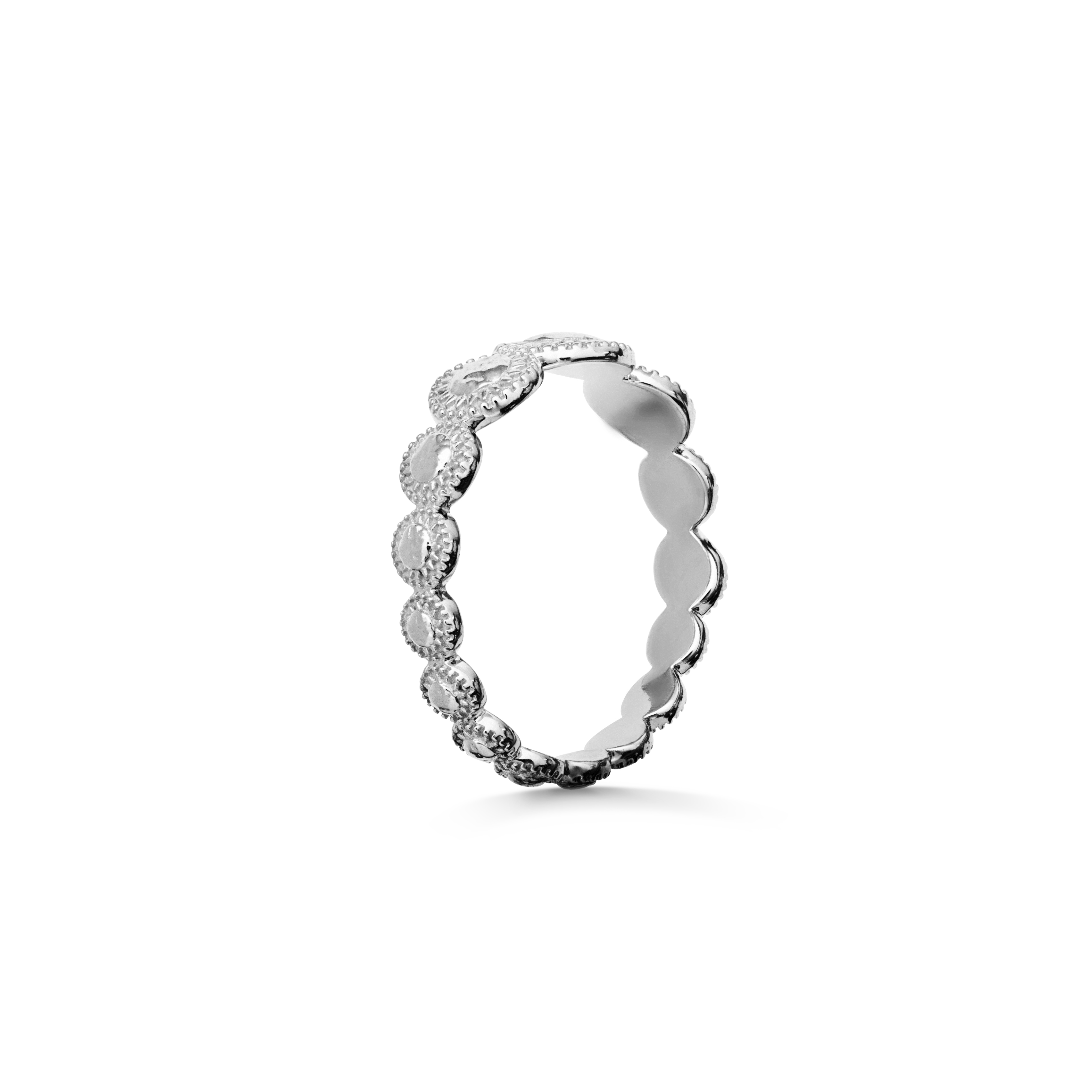 Maanesten Tara ring, sølv, 53