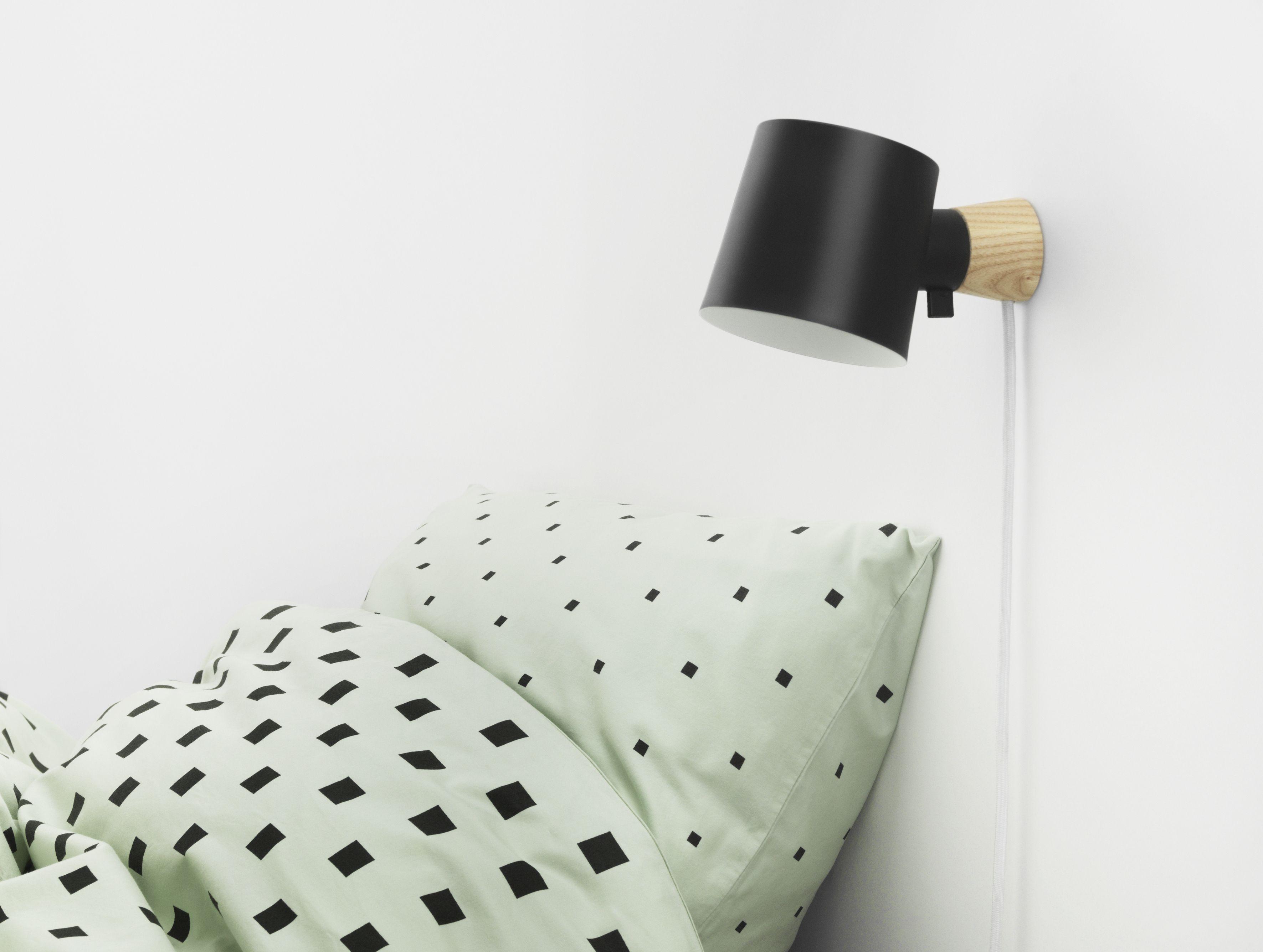 Normann Rise væglampe, 9,7 cm, grå