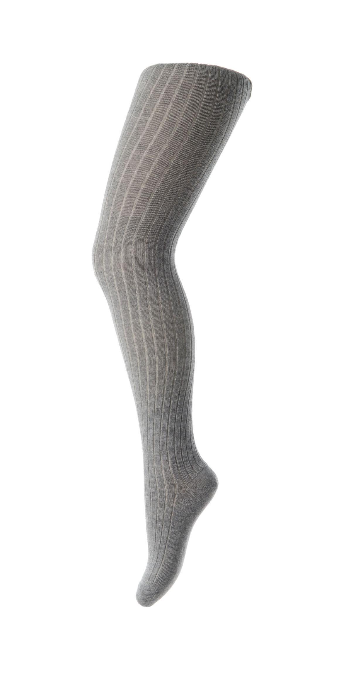 MP Uld strømpebuks, grey marled, 110