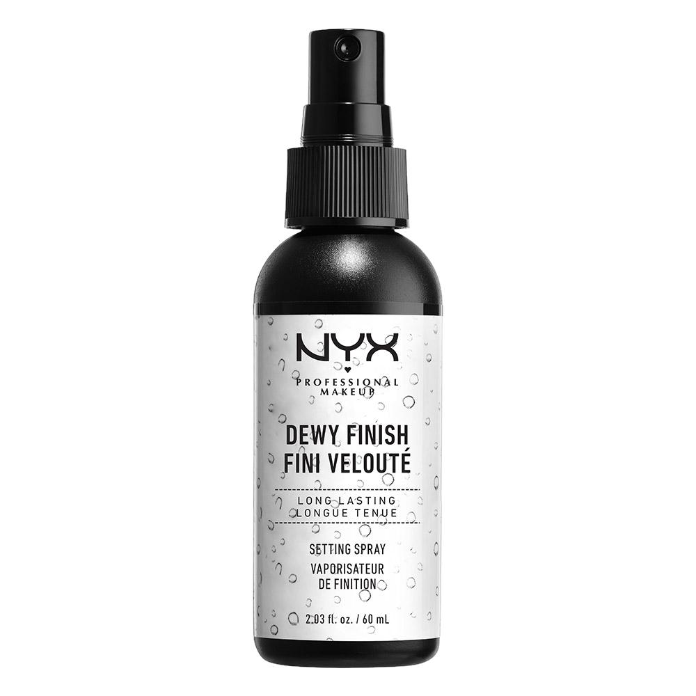 NYX Professional Makeup Dewy Finish Setting Spray, 60 ml