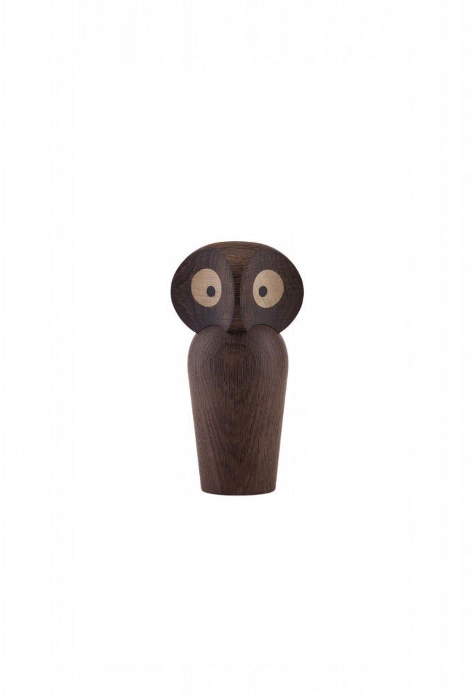 Architectmade Owl, mini, røget egetræ