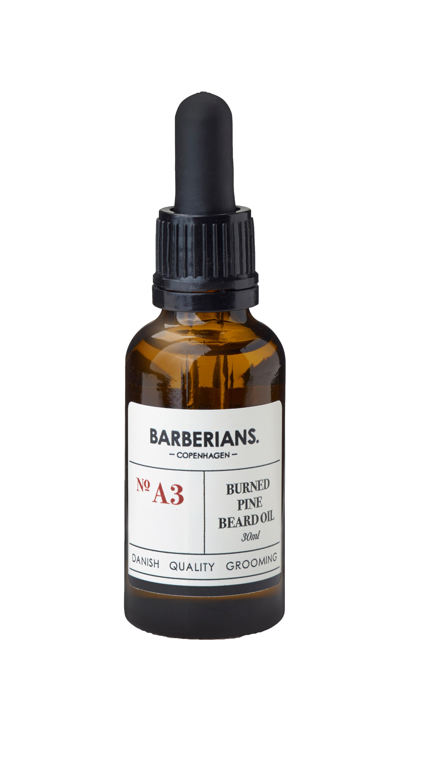 Barberians Burned Pine Beard Oil, 30 ml