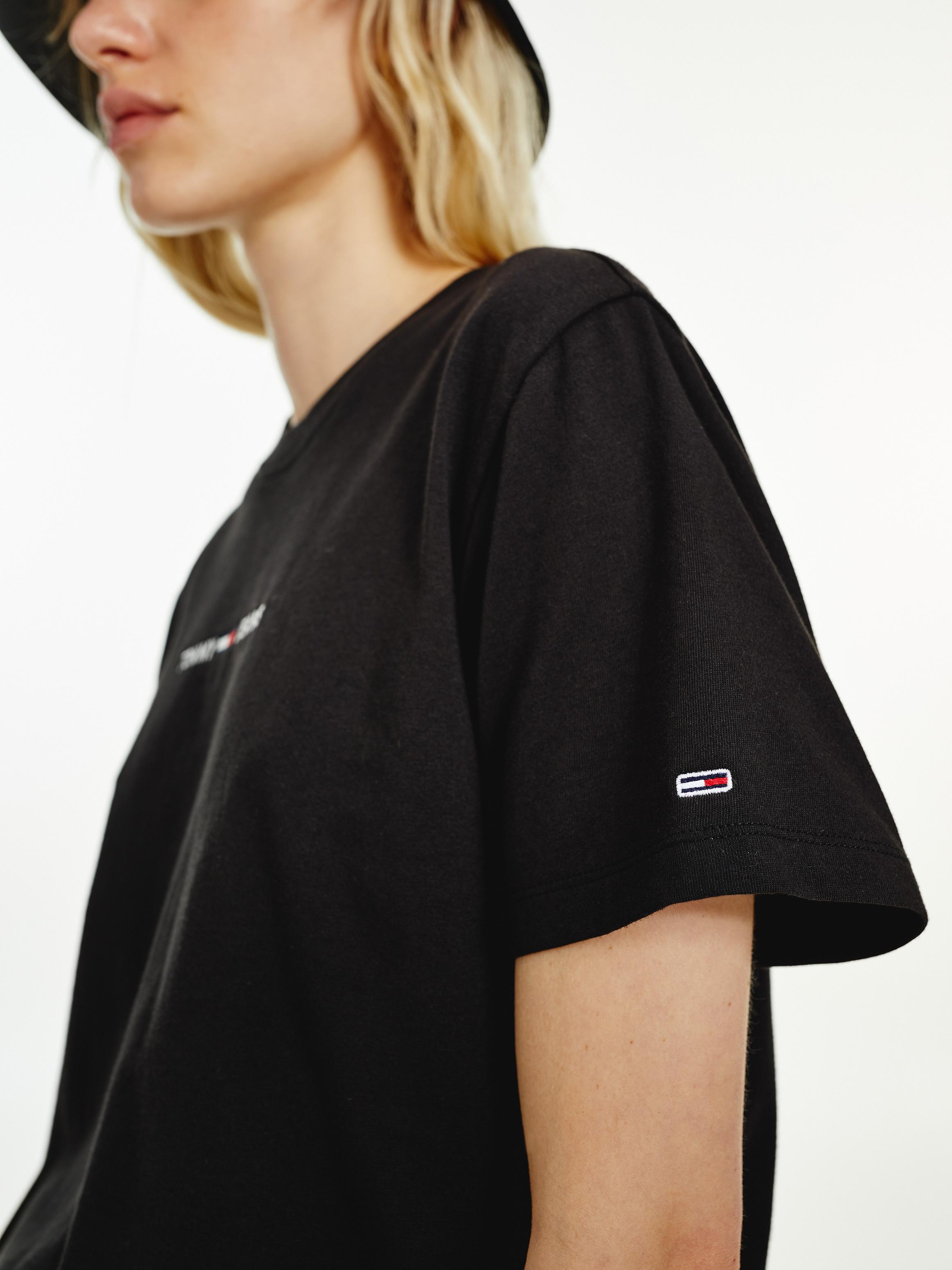 Hilfiger Denim Logo T-shirt, Sort, L