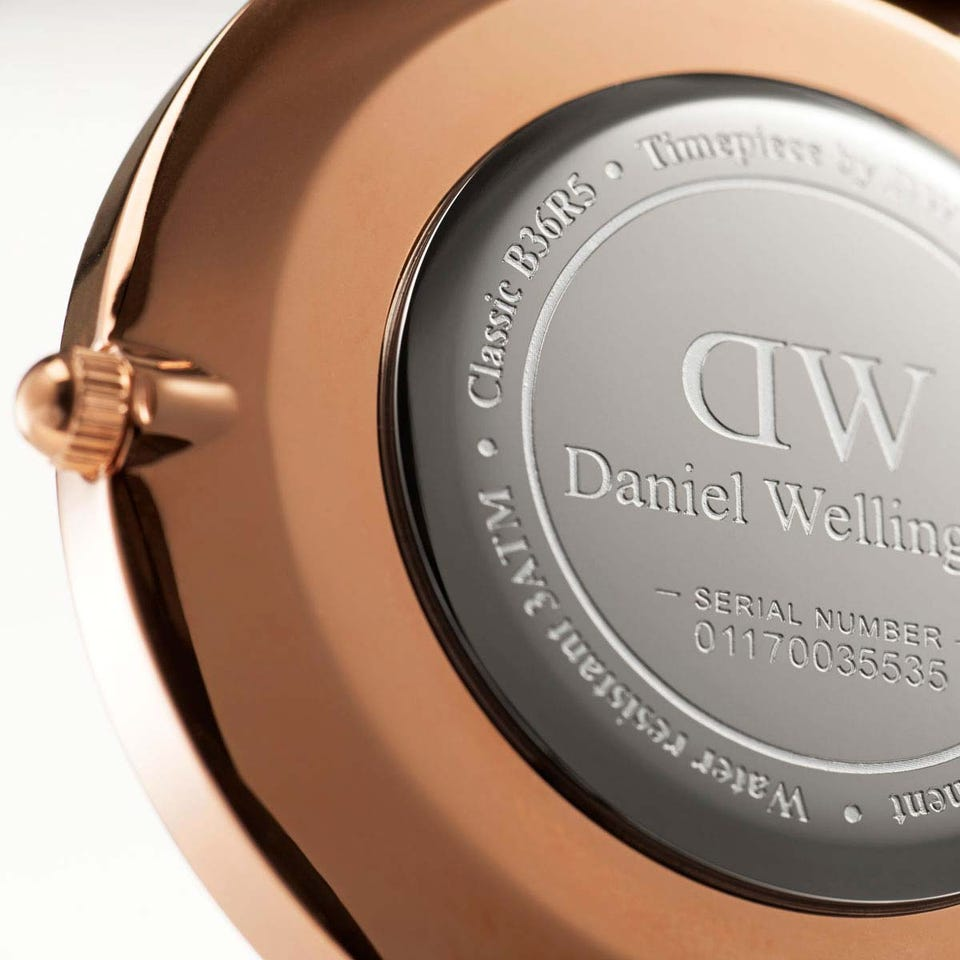 Daniel Wellington Classic Sheffield ur, 40 mm, black/rosegold