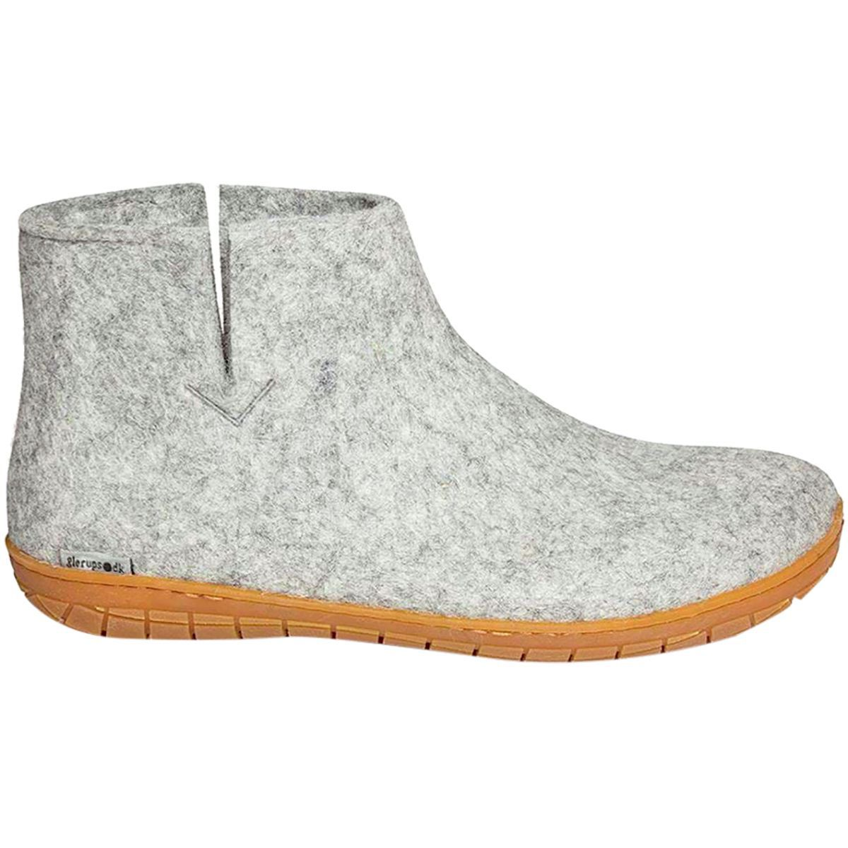 Glerups støvle med naturgummibund, koksgrå, 38