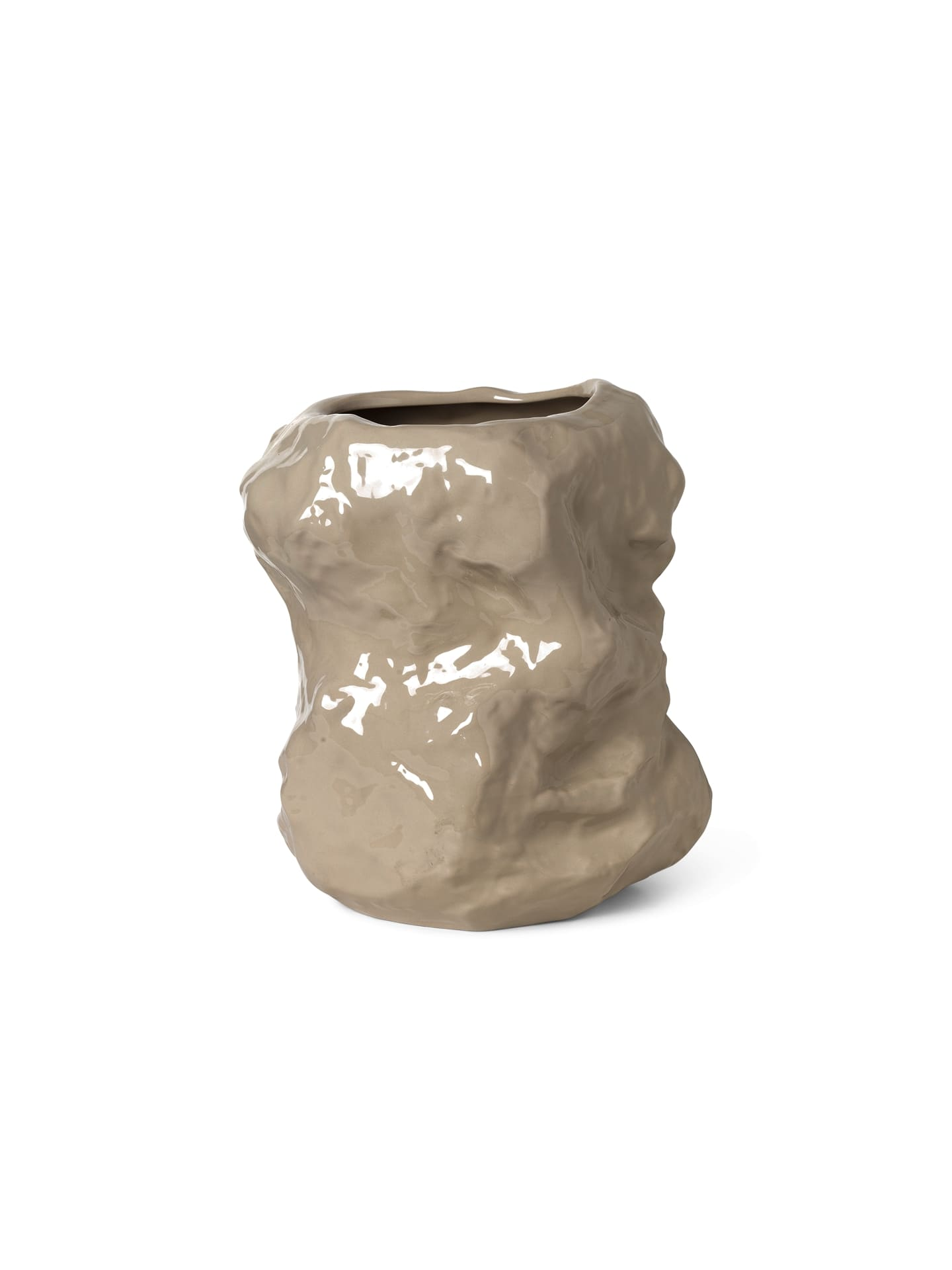 ferm LIVING Tuck vase, cashmere