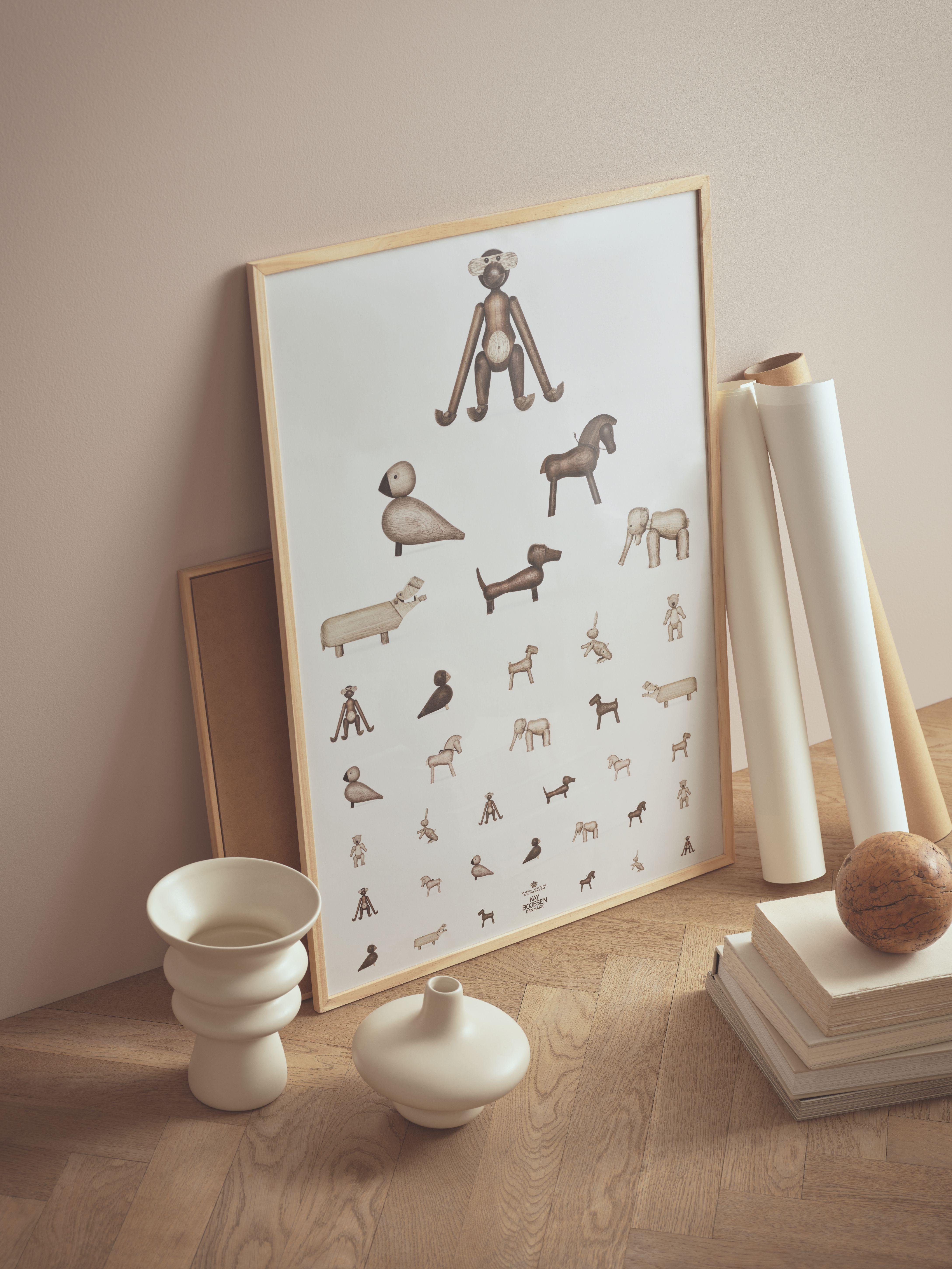 Kay Bojesen plakat, synstavle, 50x70 cm