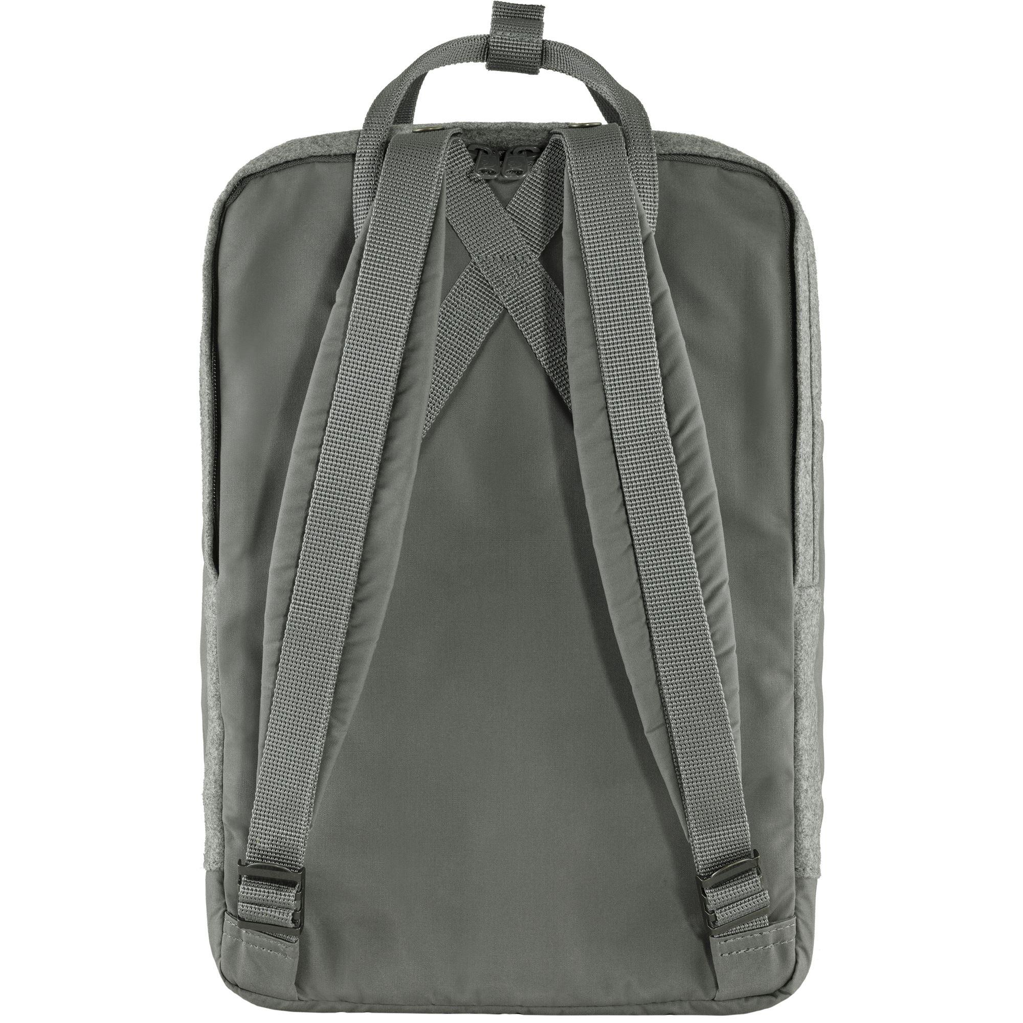 """Fjällræven Kånken Re-Wool 15"""" Laptop rygsæk, granite grey"""