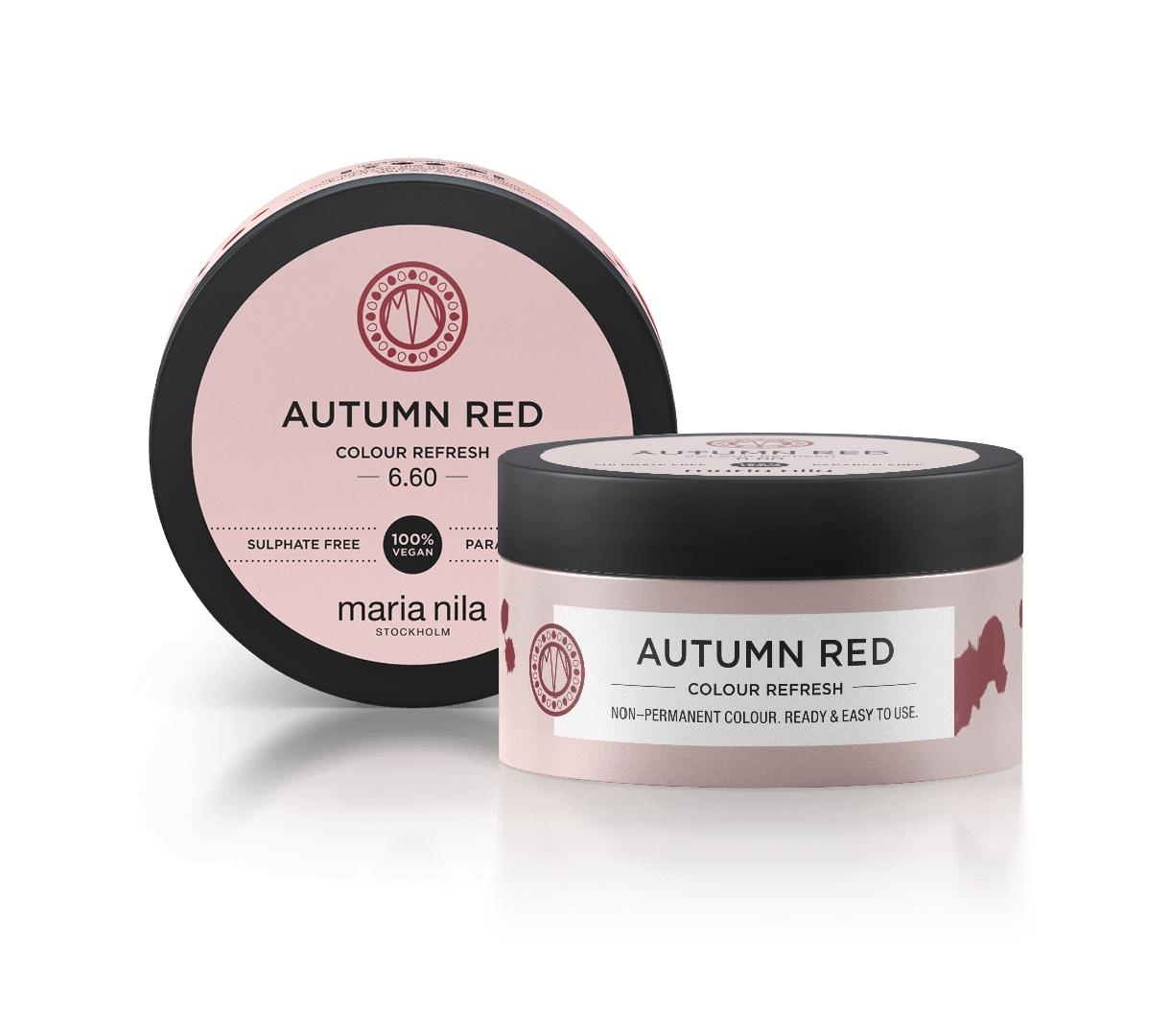 Maria Nila Colour Refresh, 6.60 autumn red, 100 ml