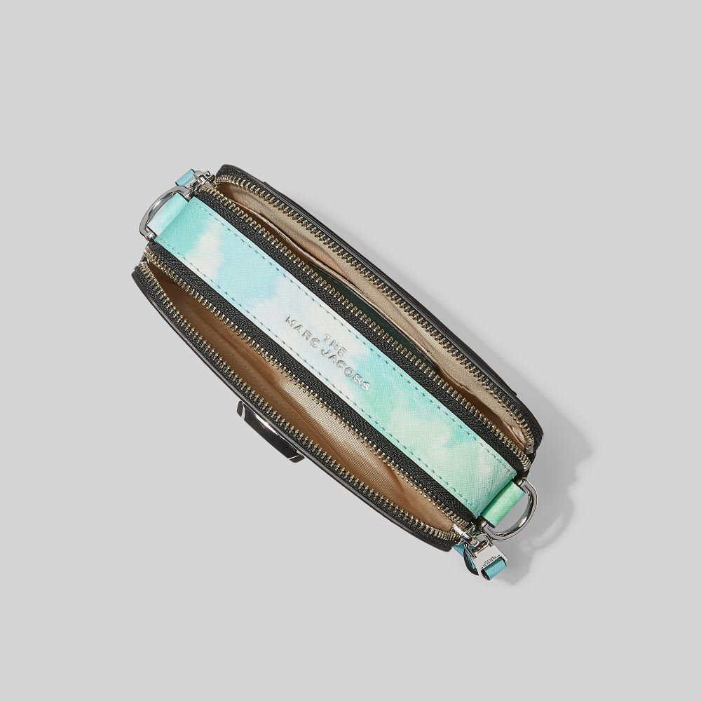 Marc Jacobs The Tie Dye Snapshot skuldertaske, blue