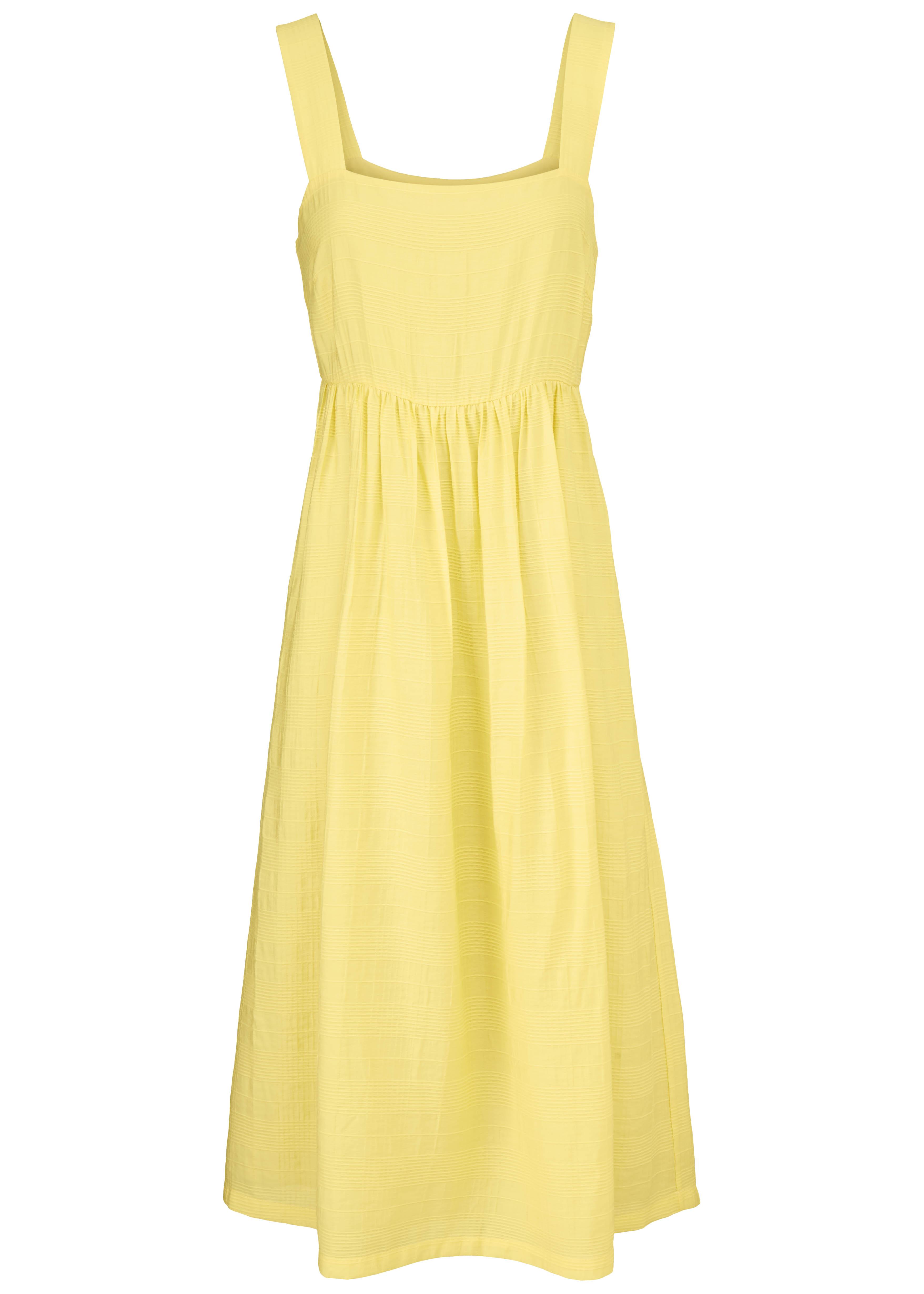 Modström Isla kjole, lemon haze, medium