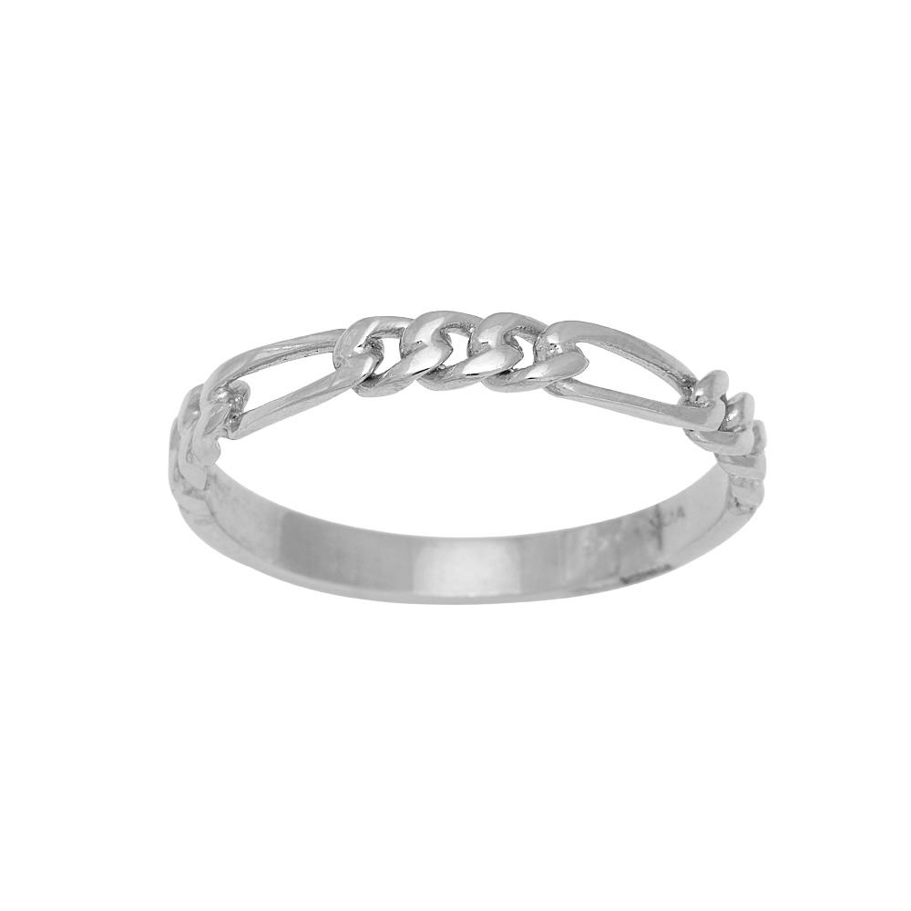Nordahl Figaro ring, sølv, 52