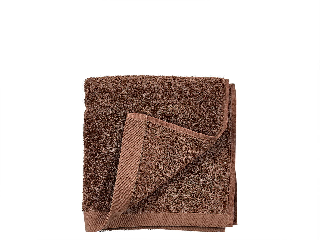 Södahl Comfort Organic håndklæde, 50x100 cm, rosewood