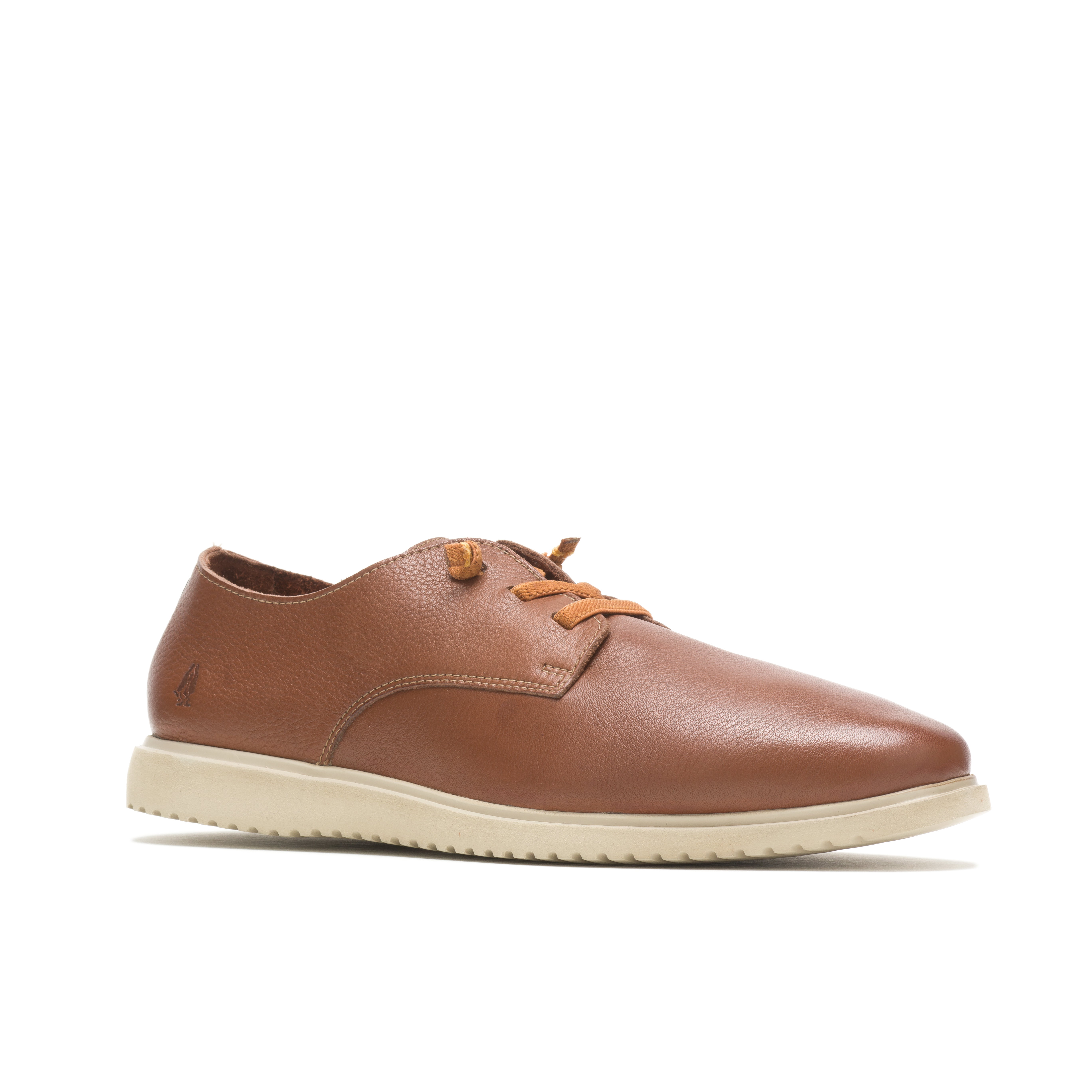 Hush everyday lace up sko, cognac leather, 43